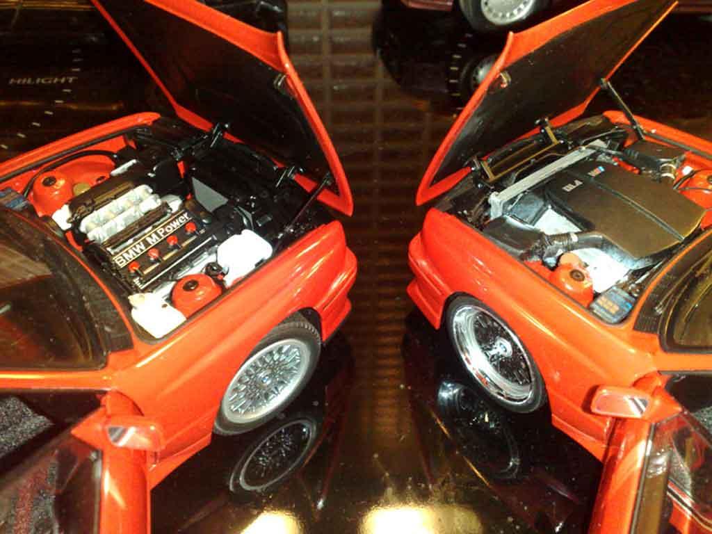 bmw m3 e30 swap moteur v10 autoart coches miniaturas 1 18 comprar venta coches miniaturas en. Black Bedroom Furniture Sets. Home Design Ideas