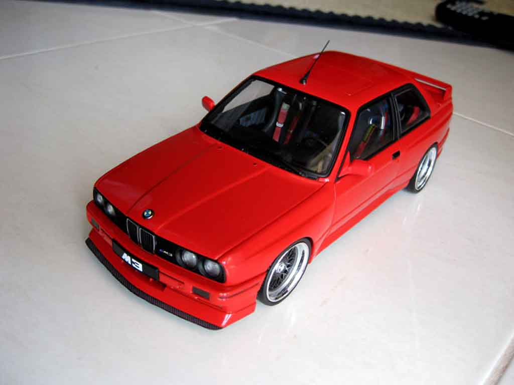 Bmw M3 E30 1/18 Autoart swap moteur v10 tuning diecast model cars
