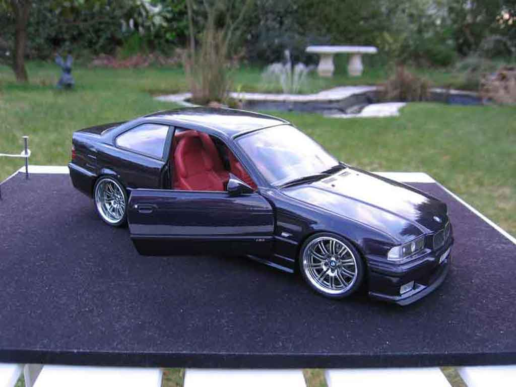 bmw m3 e36 coupe violette wheels m3 a deport ut models diecast model car 1 18 buy sell diecast. Black Bedroom Furniture Sets. Home Design Ideas