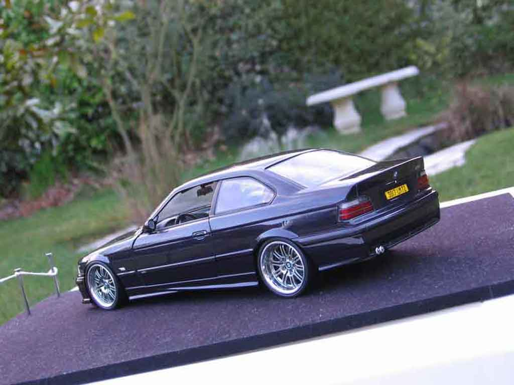 Bmw M3 E36 1/18 Ut Models coupe purple jantes m3 a deport