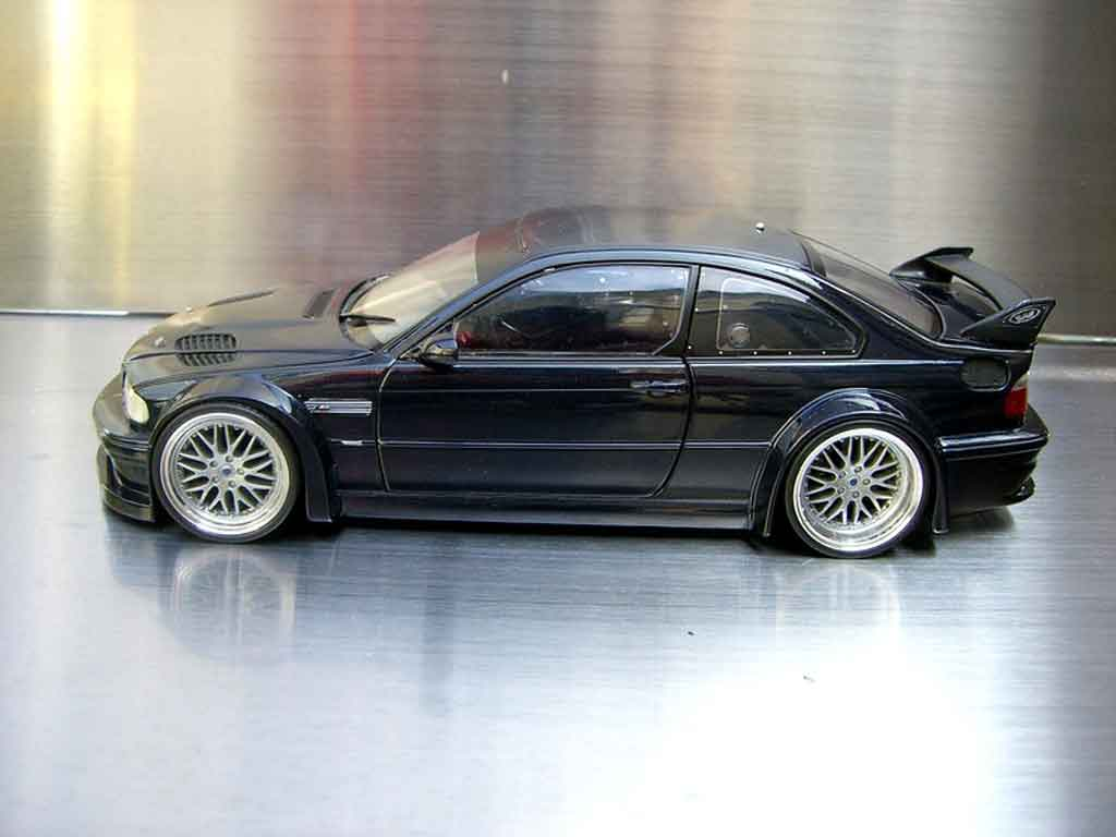 bmw m3 e46 gtr miniature jantes bbs minichamps 1 18 voiture. Black Bedroom Furniture Sets. Home Design Ideas
