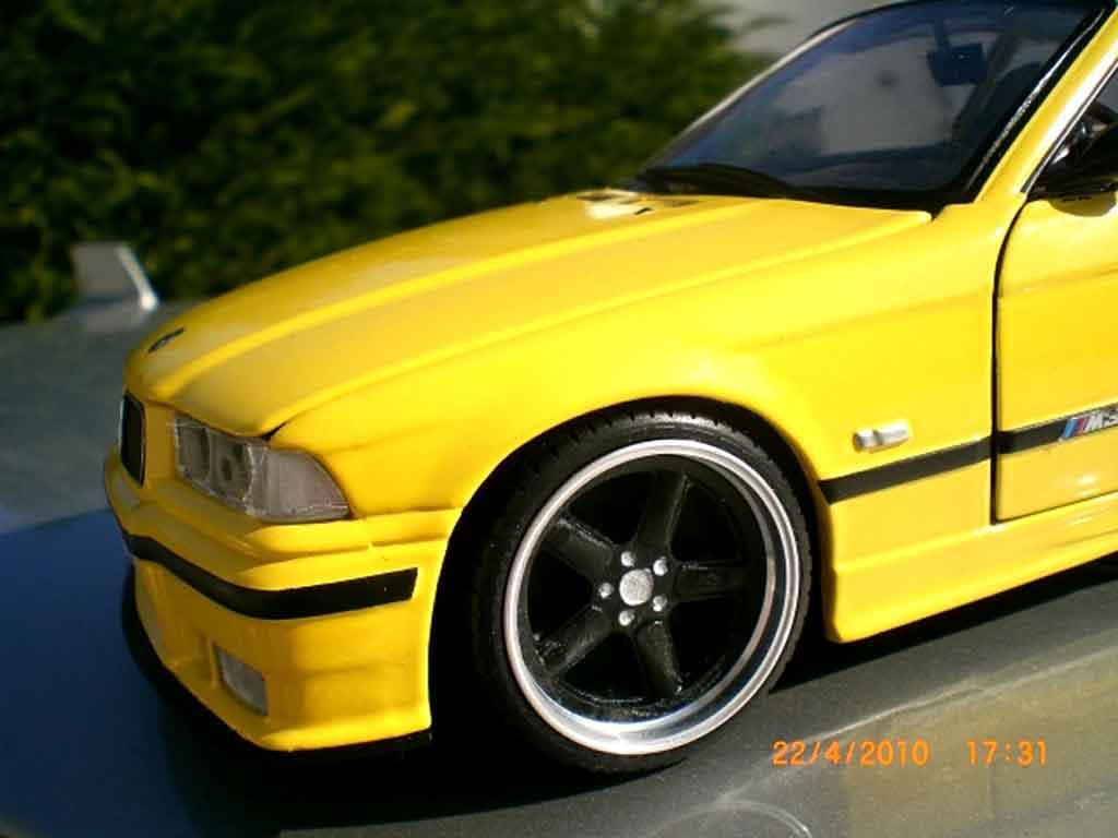 Auto miniature Bmw M3 E36 jaune jantes ac schnitzer 18 pouces tuning Ut Models. Bmw M3 E36 jaune jantes ac schnitzer 18 pouces Ac Schnitzer miniature 1/18