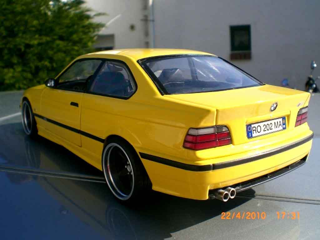 Modèle réduit Bmw M3 E36 jaune jantes ac schnitzer 18 pouces tuning Ut Models. Bmw M3 E36 jaune jantes ac schnitzer 18 pouces Ac Schnitzer miniature 1/18