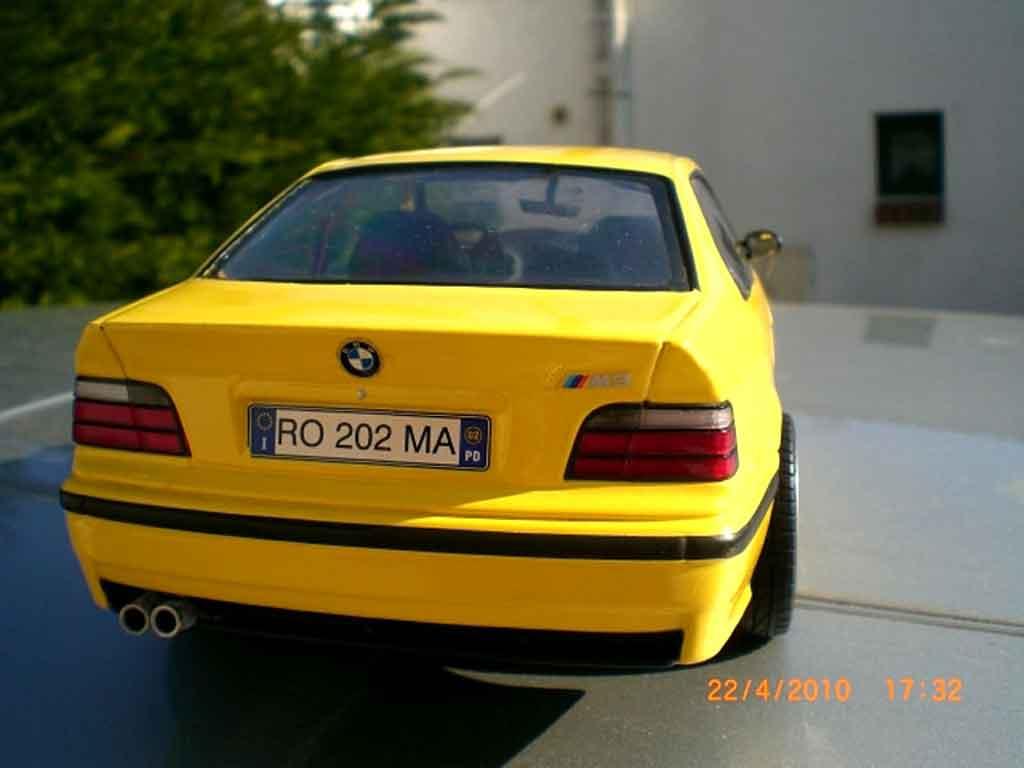 Bmw M3 E36 jaune jantes ac schnitzer 18 pouces tuning Ut Models. Bmw M3 E36 jaune jantes ac schnitzer 18 pouces Ac Schnitzer miniature miniature 1/18