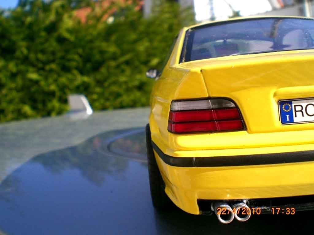 Bmw M3 E36 jaune jantes ac schnitzer 18 pouces tuning Ut Models. Bmw M3 E36 jaune jantes ac schnitzer 18 pouces Ac Schnitzer miniature auto miniature 1/18