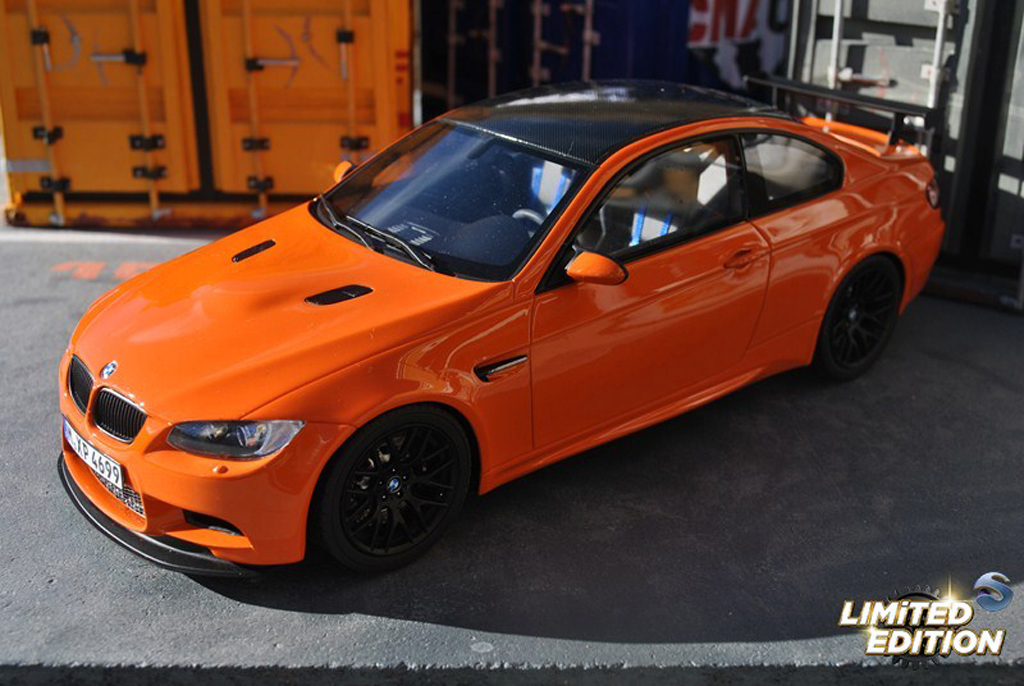 Bmw M3 E92 1/18 GT Spirit GTS orange tuning diecast