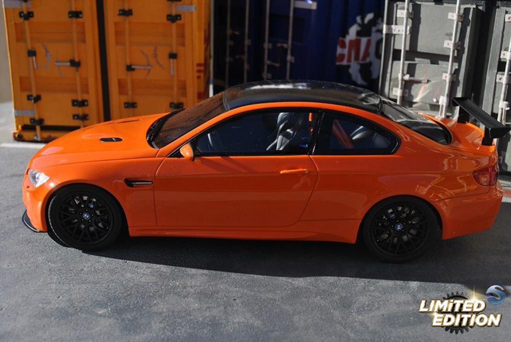 Bmw M3 E92 1/18 GT Spirit GTS orange