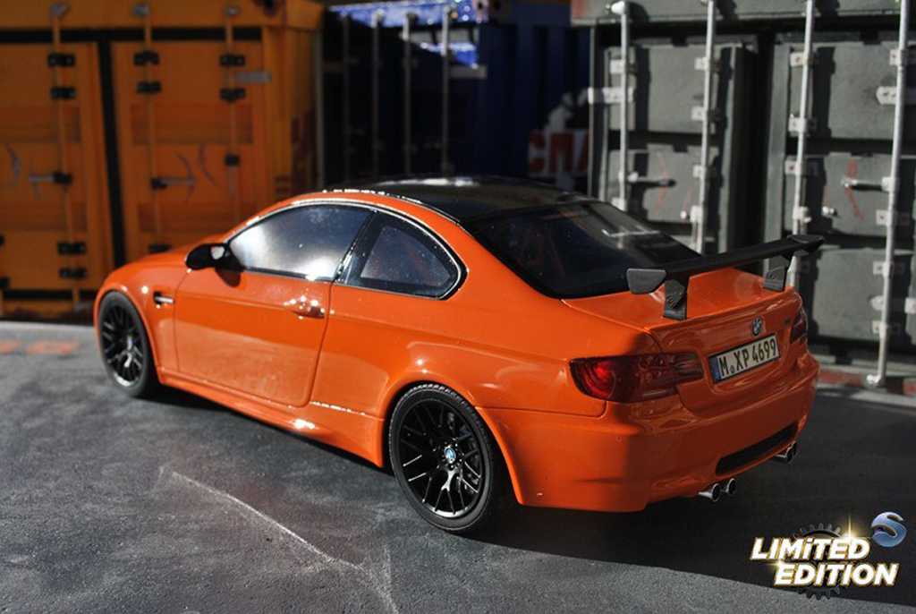 Bmw M3 E92 1/18 GT Spirit GTS orange