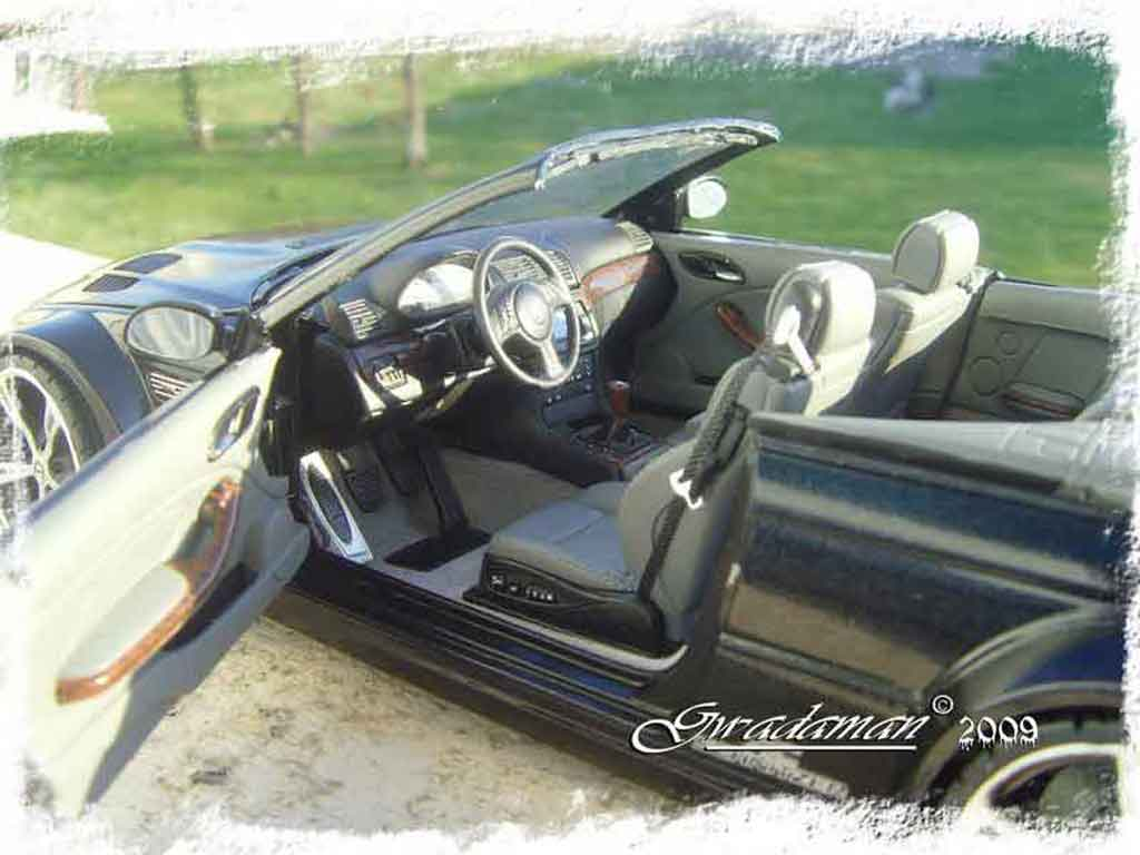 Bmw M3 E46 1/18 Minichamps GTR cabriolet ac schnitzer