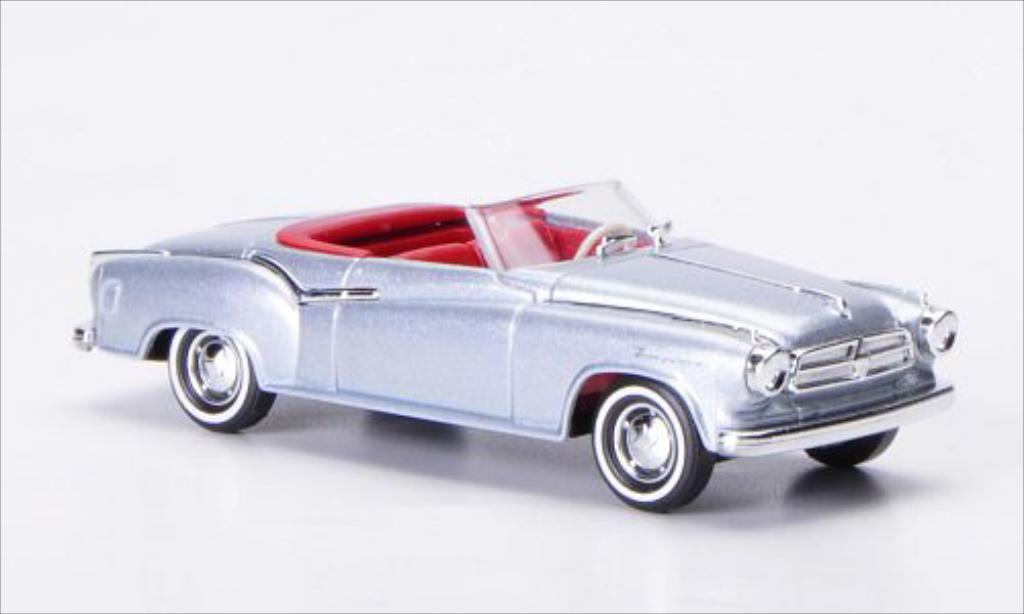 Borgward Isabella 1/87 Busch Cabriolet grise 1958