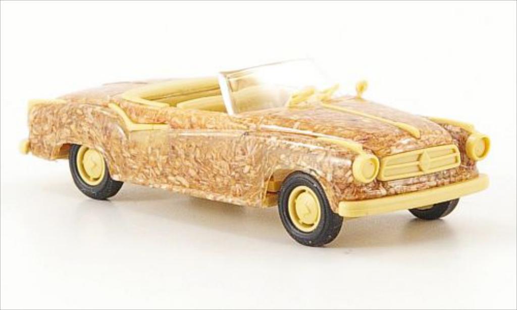 Borgward Isabella 1/87 Busch Cabriolet Holzoptik miniature