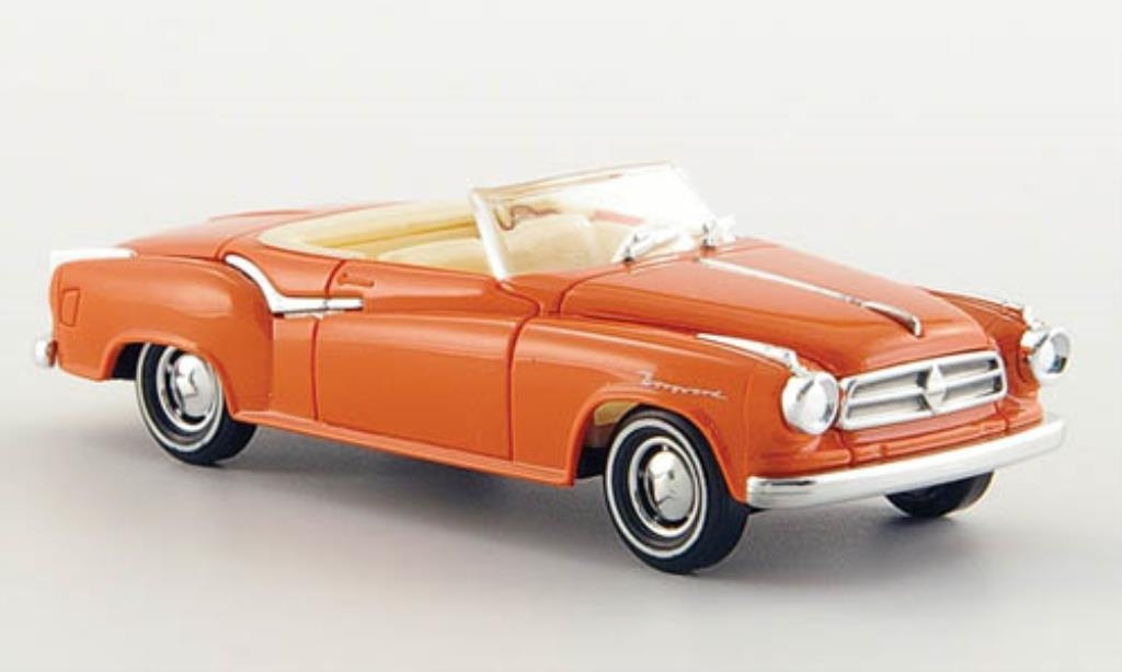 Borgward Isabella 1/87 Busch Cabriolet lachsfarben 1958 miniature