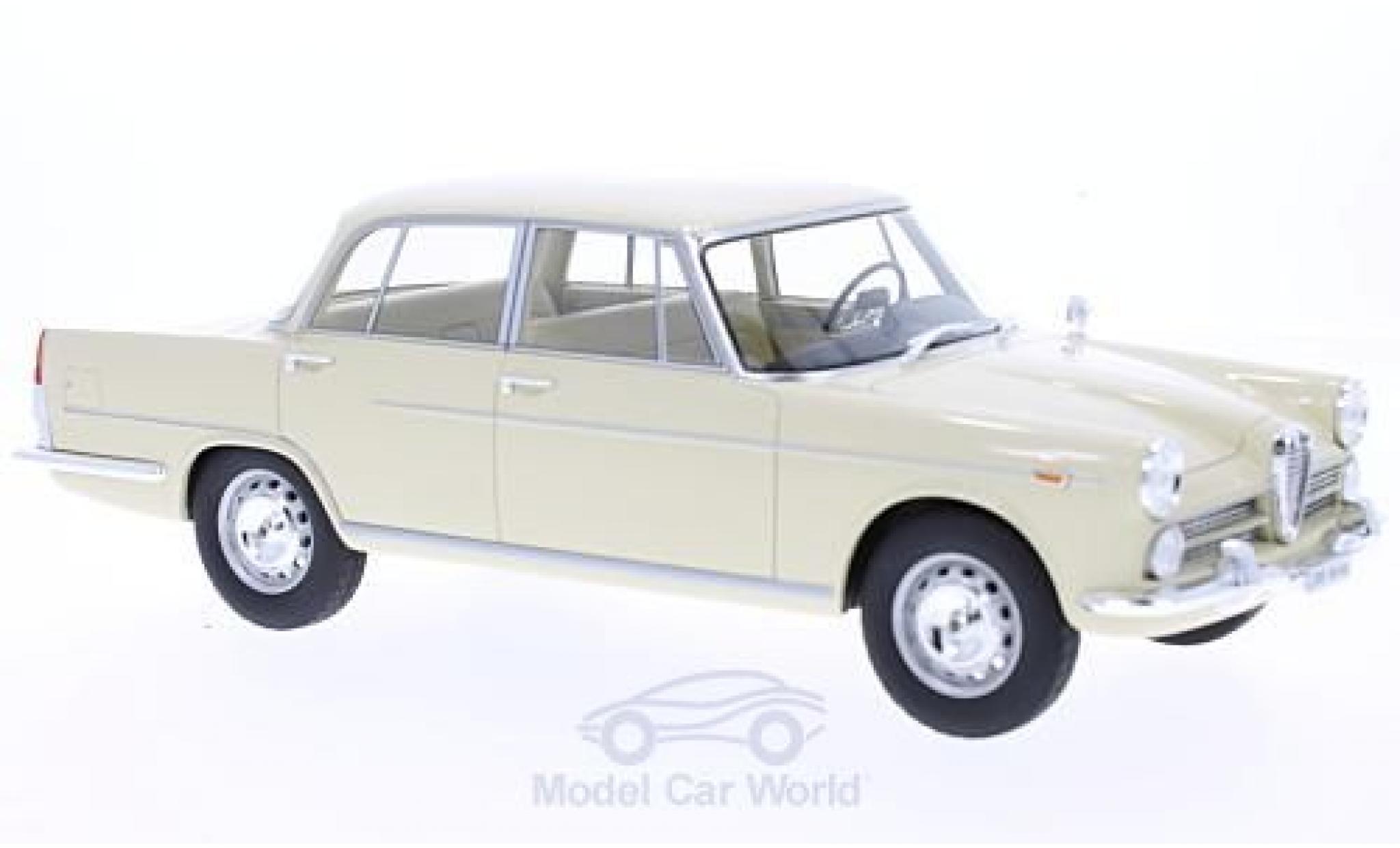 Alfa Romeo 2000 1/18 BoS Models beige 1958