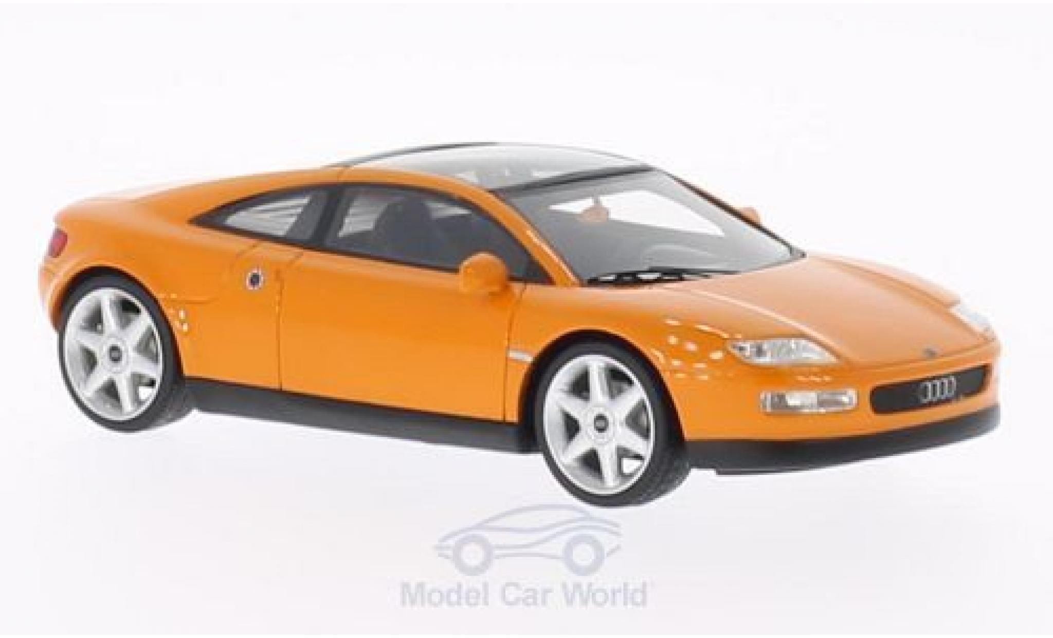 Audi Quattro 1/43 BoS Models quattro Spyder orange 1991