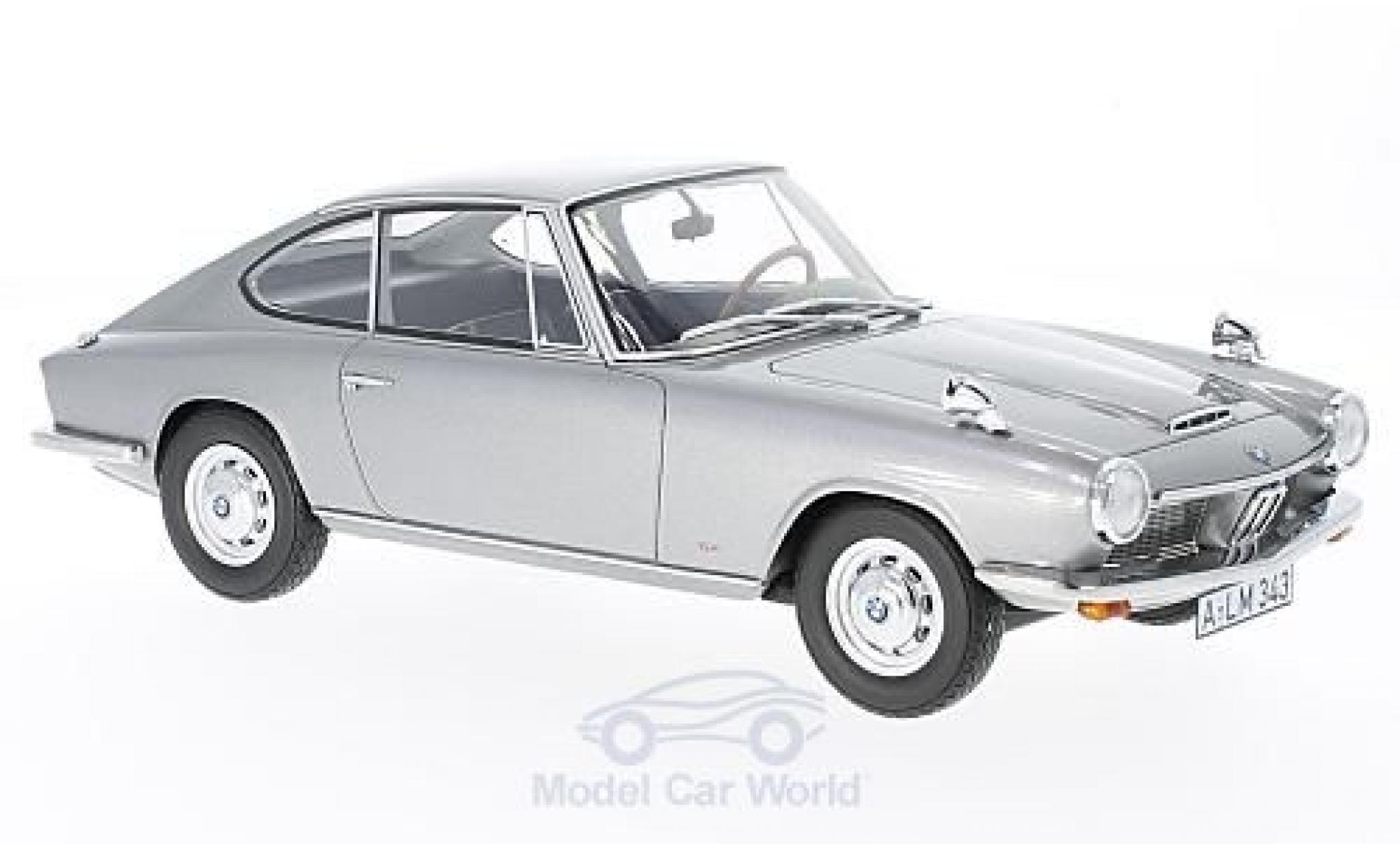 Bmw 1600 GT 1/18 BoS Models GT grise 1968