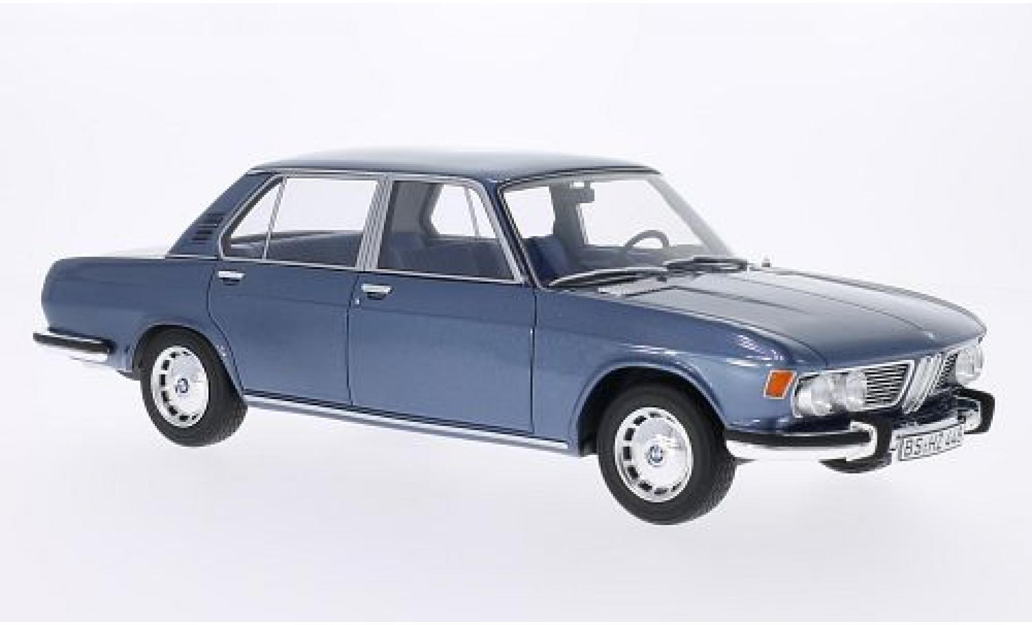 Bmw 2500 1/18 BoS Models (E3) metallise grigio 1968