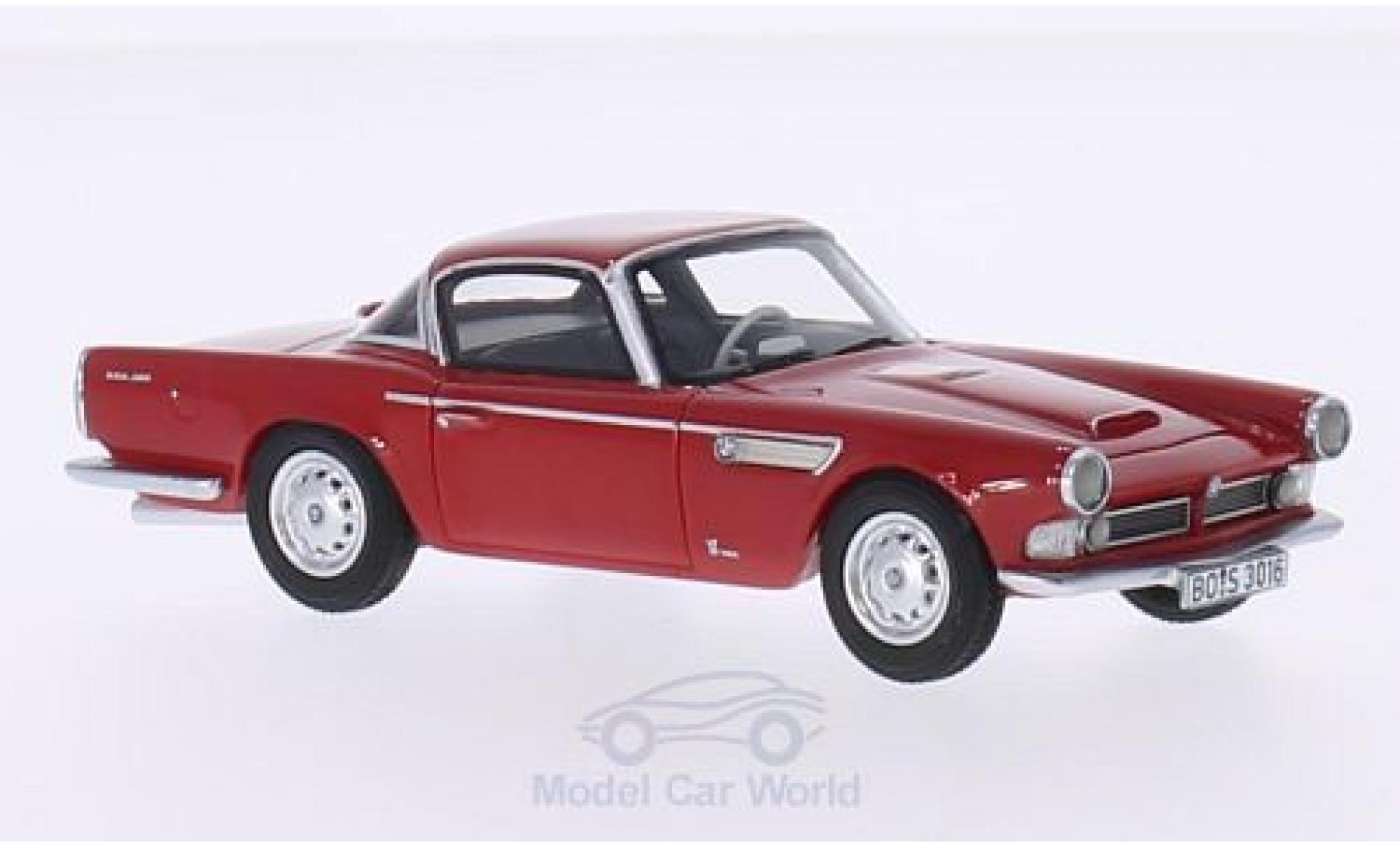 Bmw 3200 1/43 BoS Models BMW Michelotti Vignale red 1959