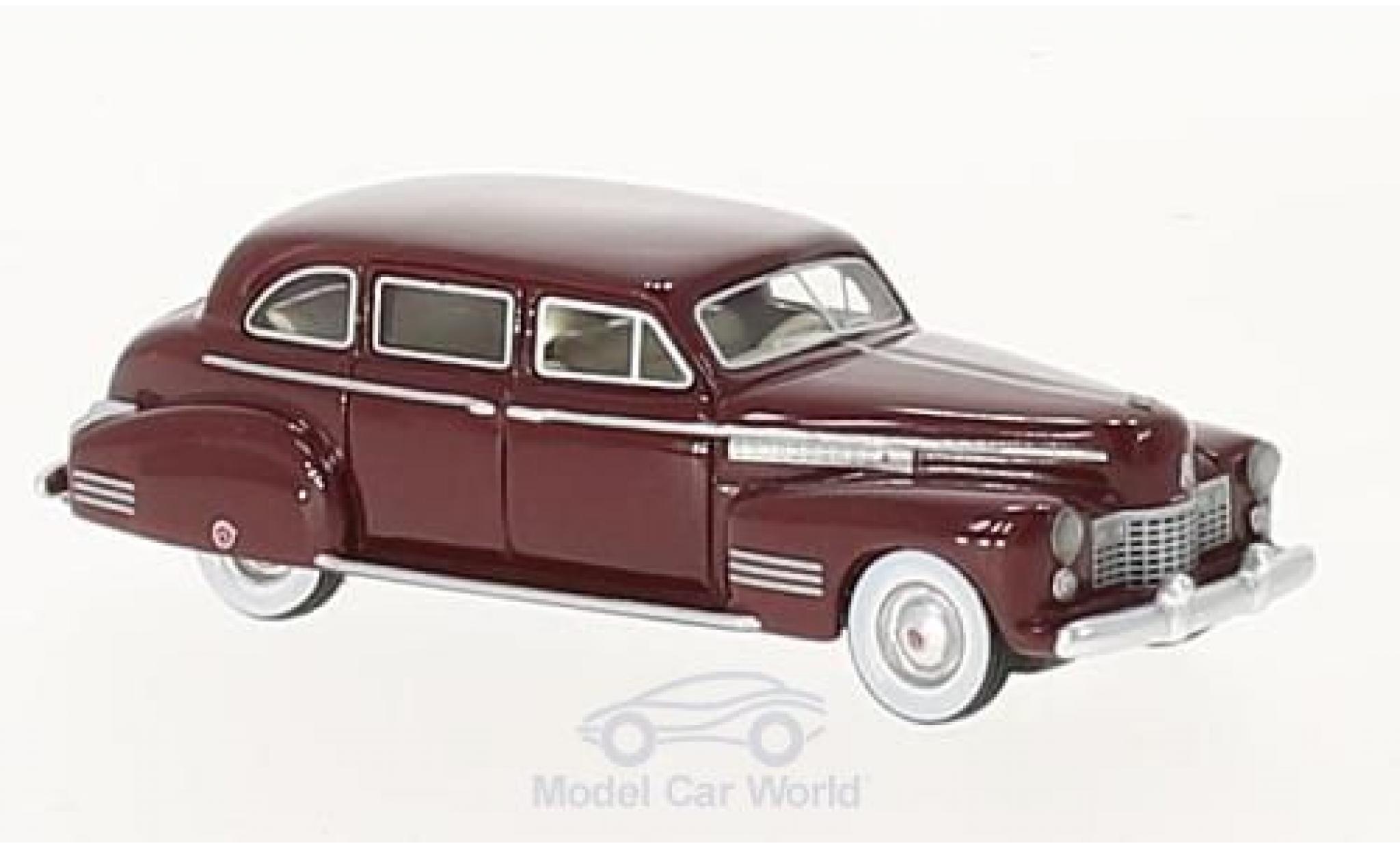 Cadillac Fleetwood 1/87 BoS Models 75 Touring Sedan metallise rouge 1941
