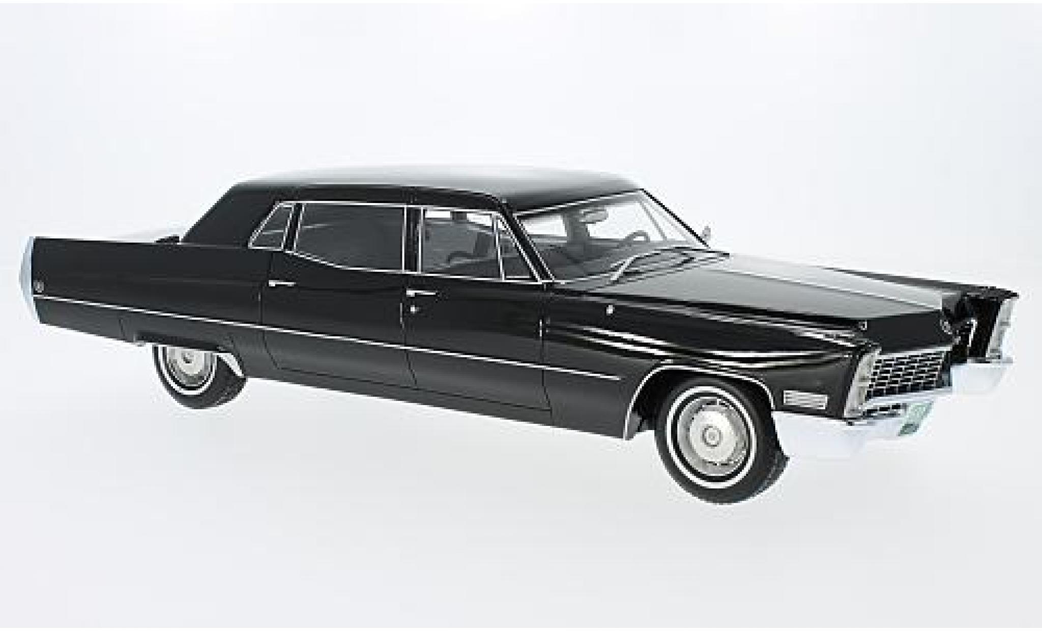 Cadillac Fleetwood 1/18 BoS Models Series 75 black 1967