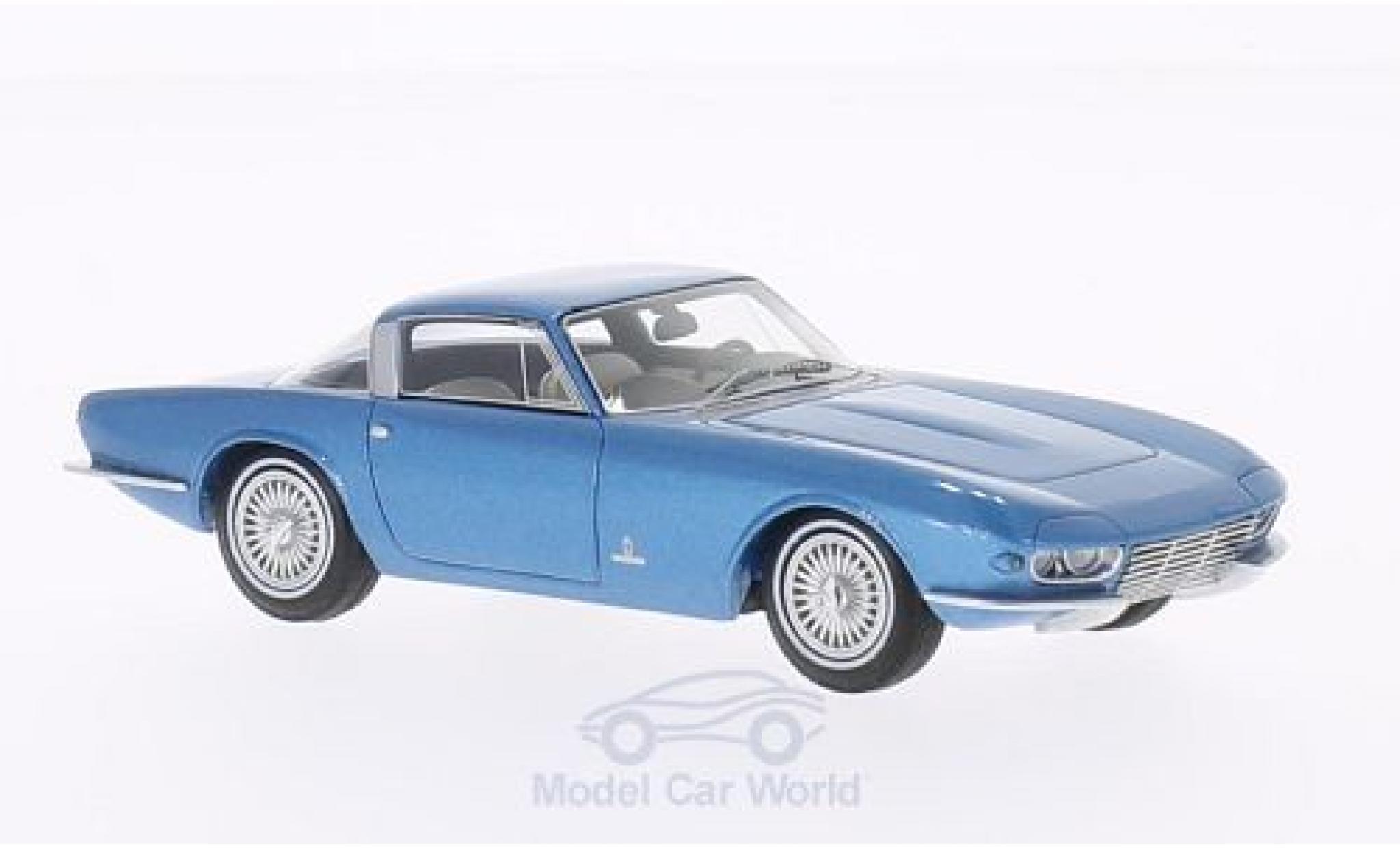 Chevrolet Corvette C2 1/43 BoS Models Rondine Pininfarina metallise blue 1963