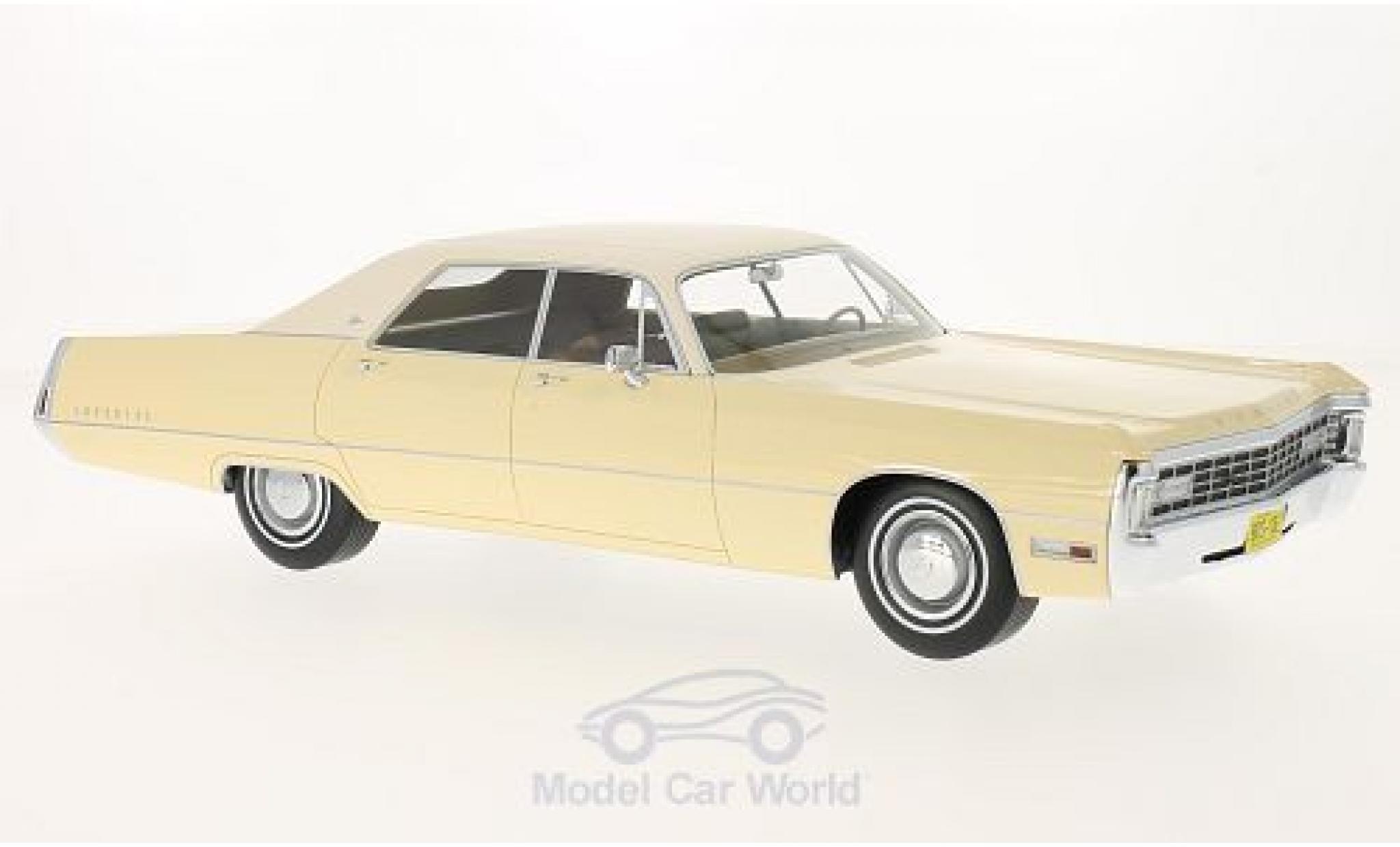 Chrysler Imperial 1/18 BoS Models LeBaron 4-door Hardtop dunkelbeige/hellbeige 1971