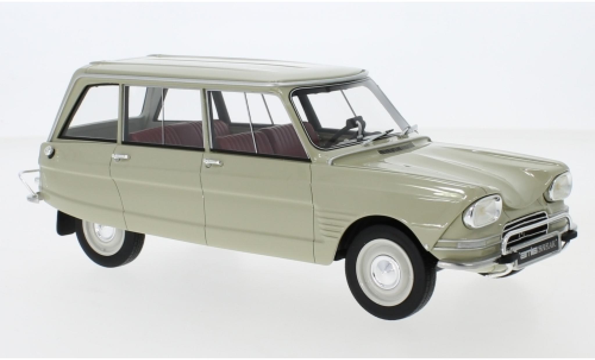 Citroen Ami 6 1/18 BoS Models Break beige 1967