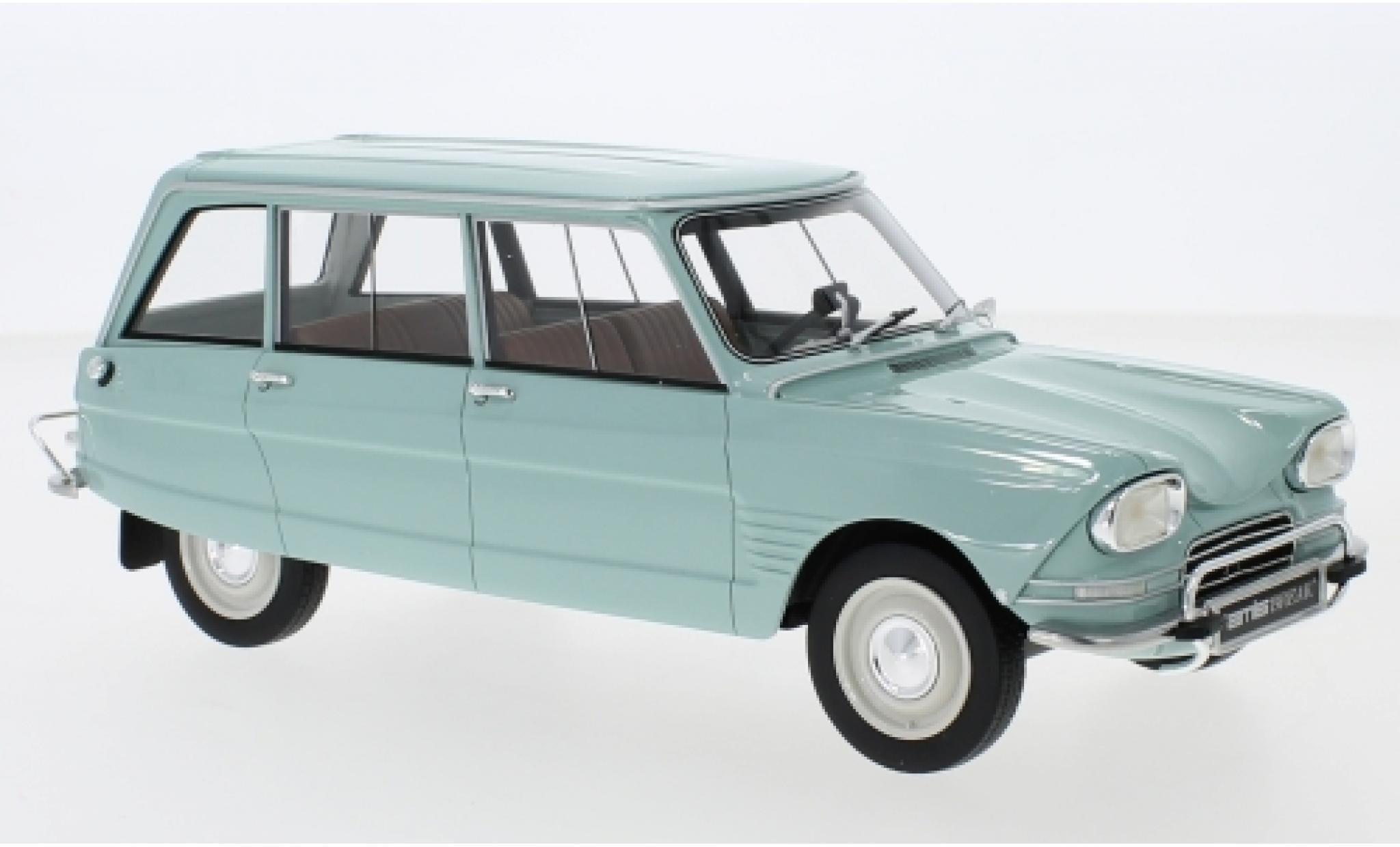 Citroen Ami 6 1/18 BoS Models Break bleue 1967