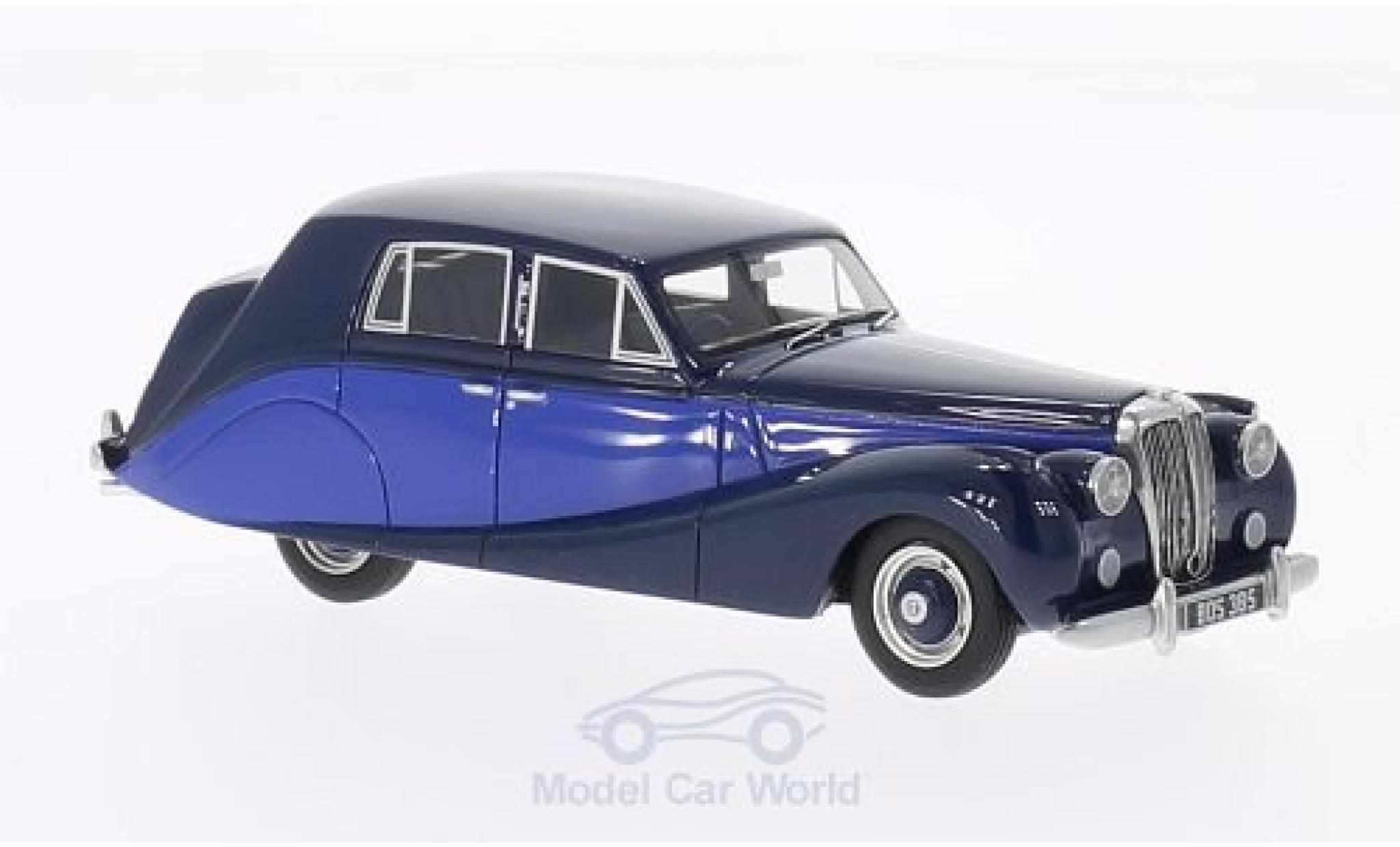 Daimler DB18 1/43 BoS Models Hooper Empress bleue/bleue 1950