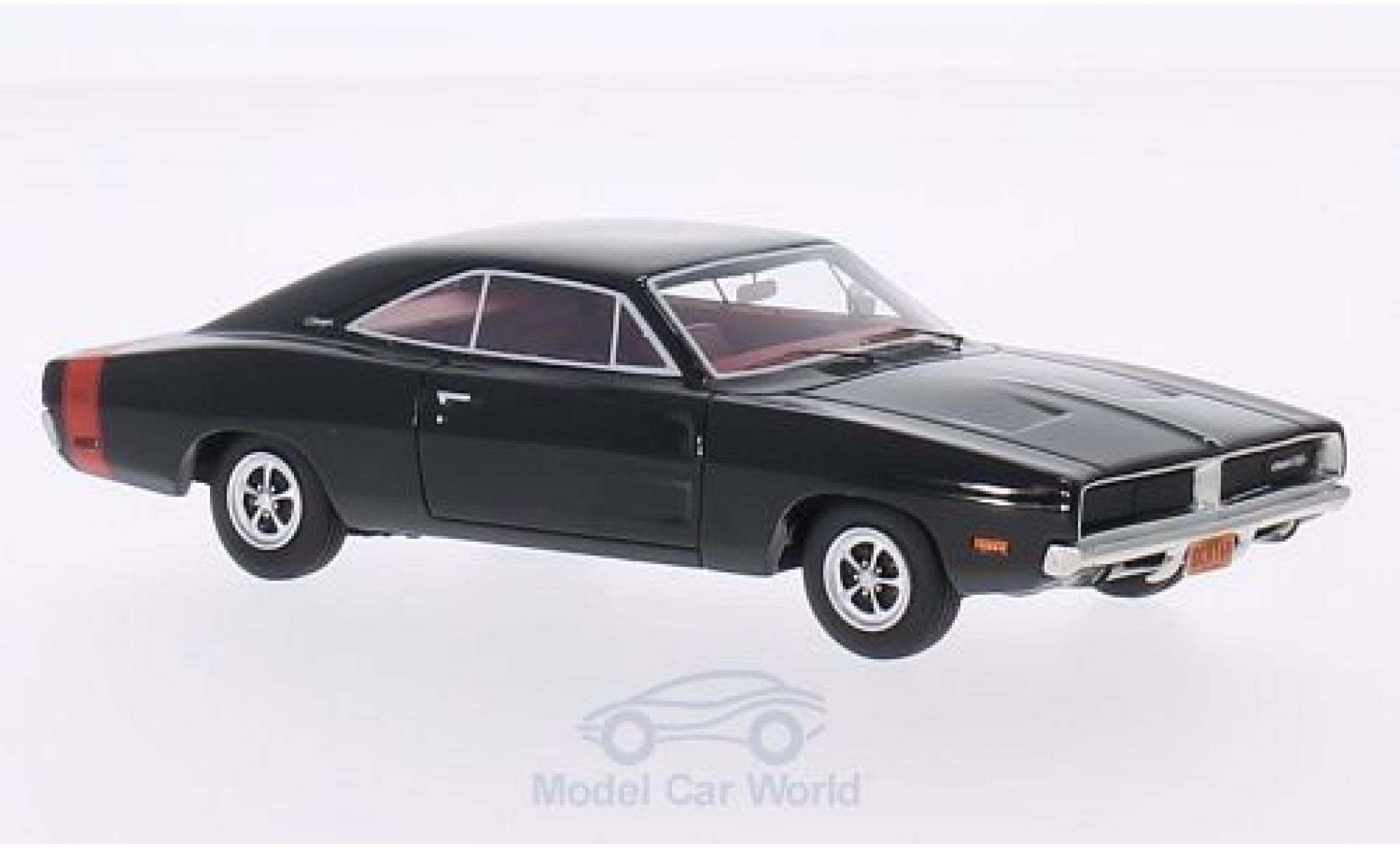Dodge Charger 1969 1/43 BoS Models R/T black