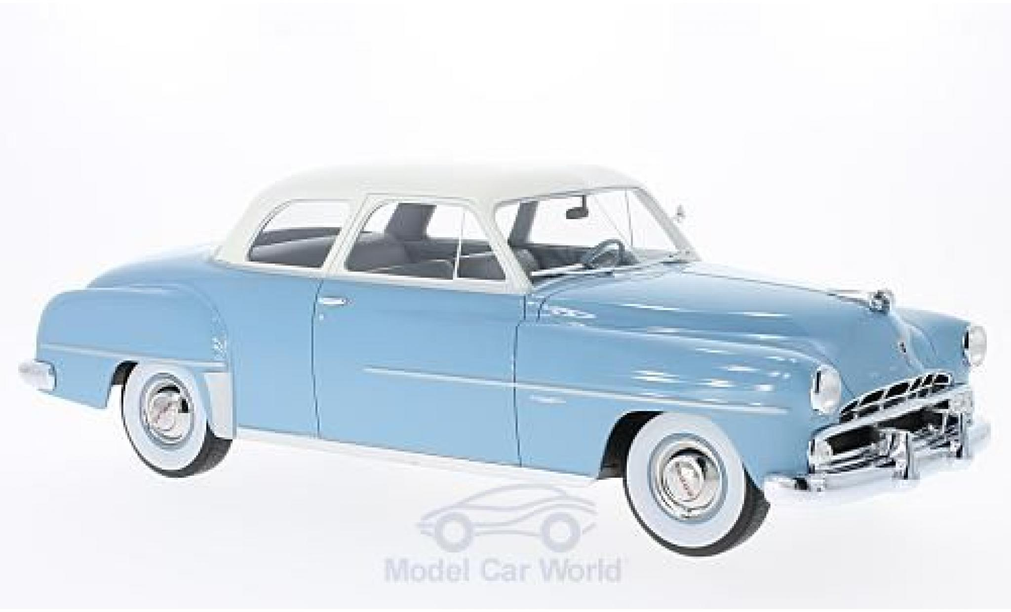 Dodge Coronet 1/18 BoS Models Club Coupe blue/white 1952
