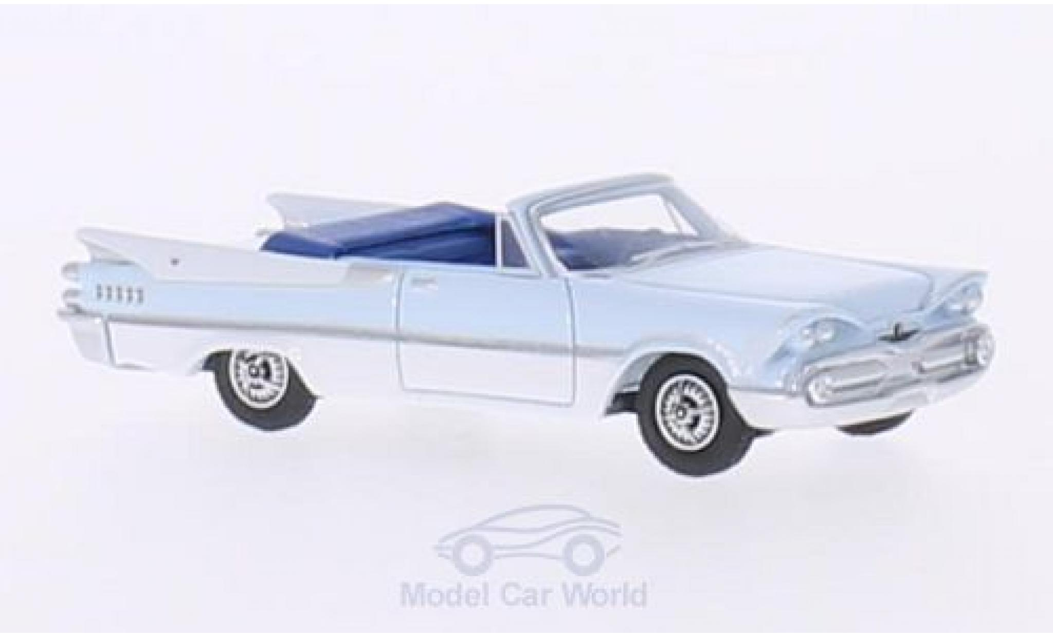 Dodge Custom Royal Lancer 1/87 BoS Models Convertible hellbleue/blanche 1959