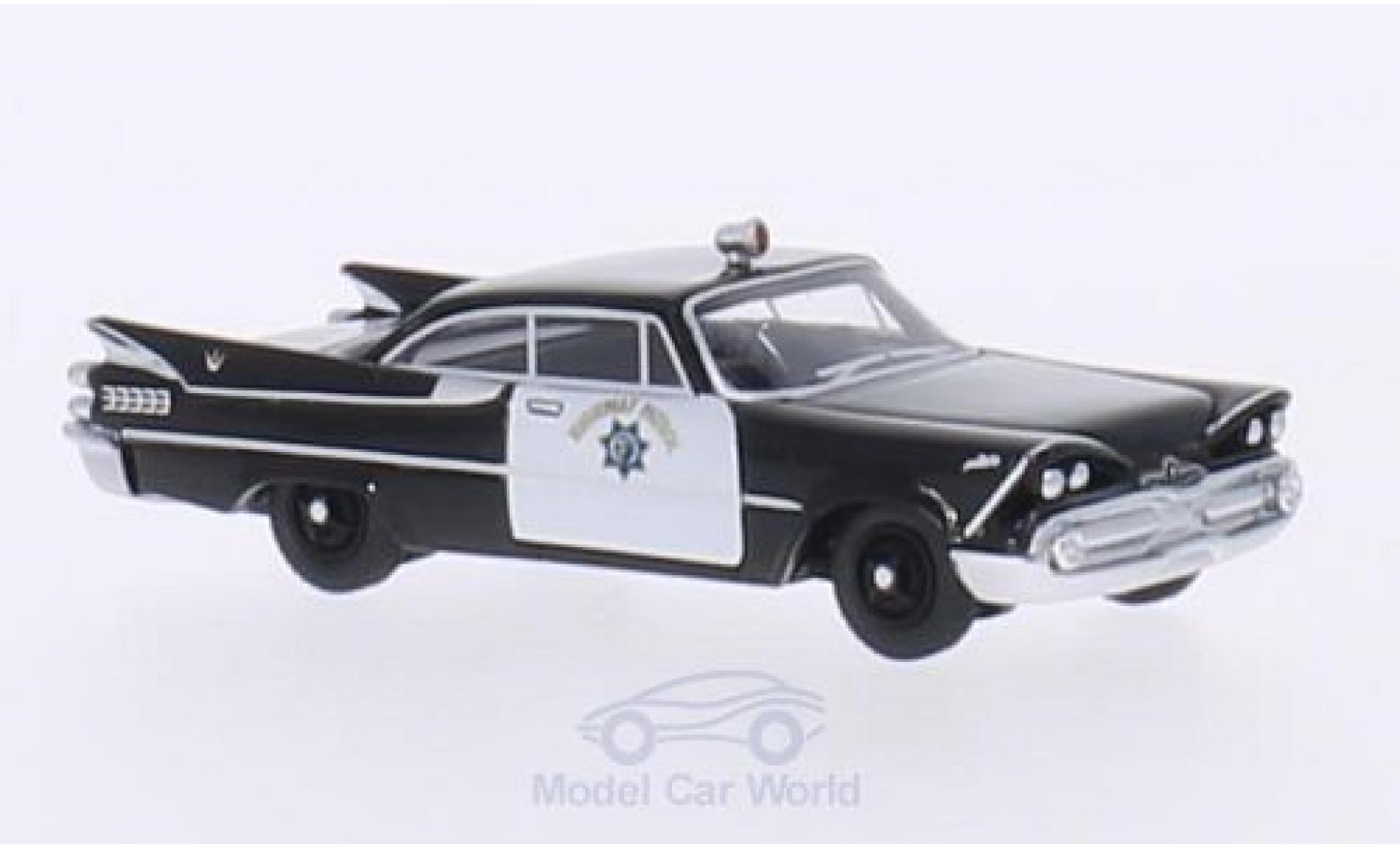 Dodge Custom Royal Lancer 1/87 BoS Models Coupe California Highway Patrol 1959