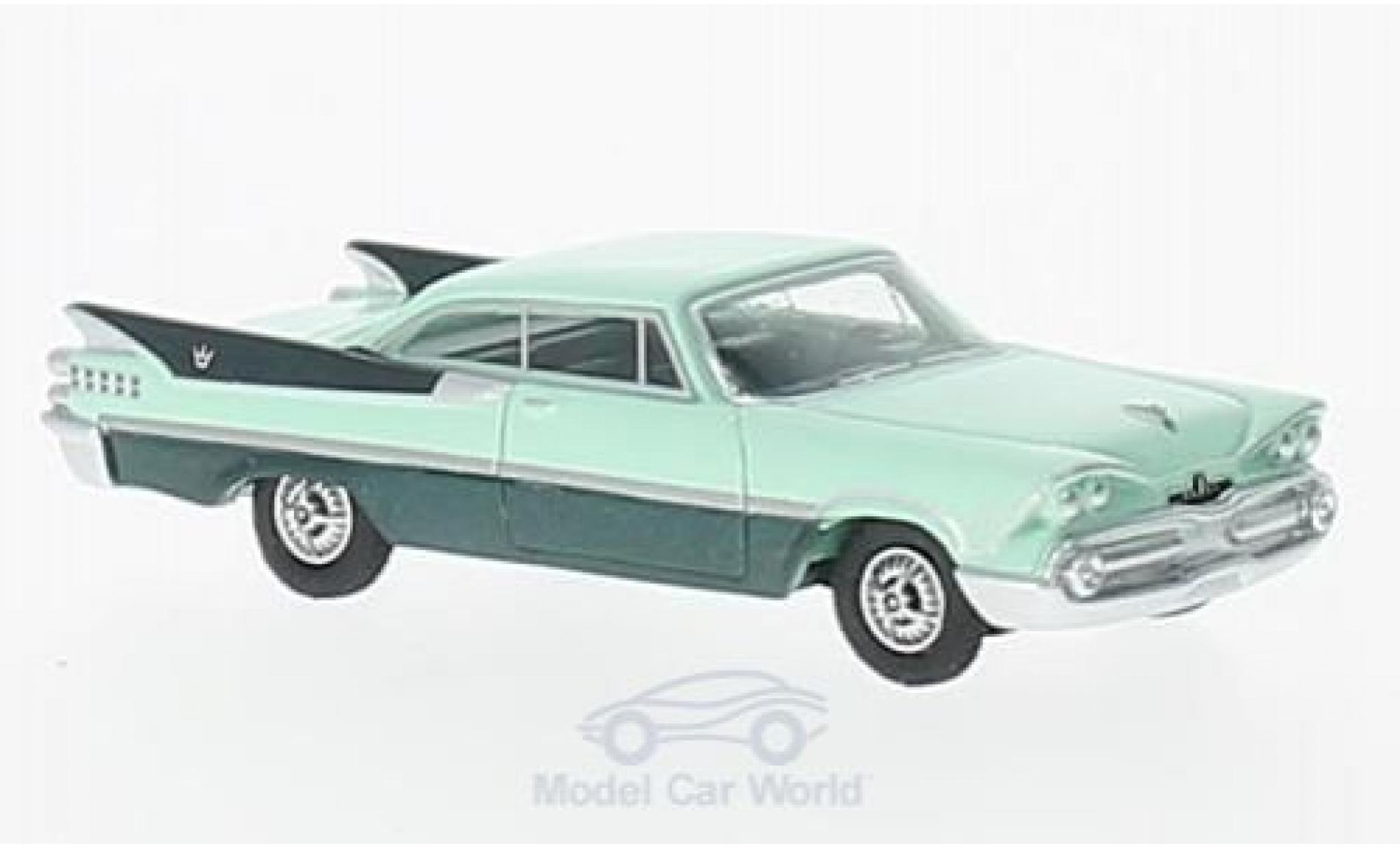 Dodge Custom Royal Lancer 1/87 BoS Models Coupe hellgrün/dunkelgrün 1959