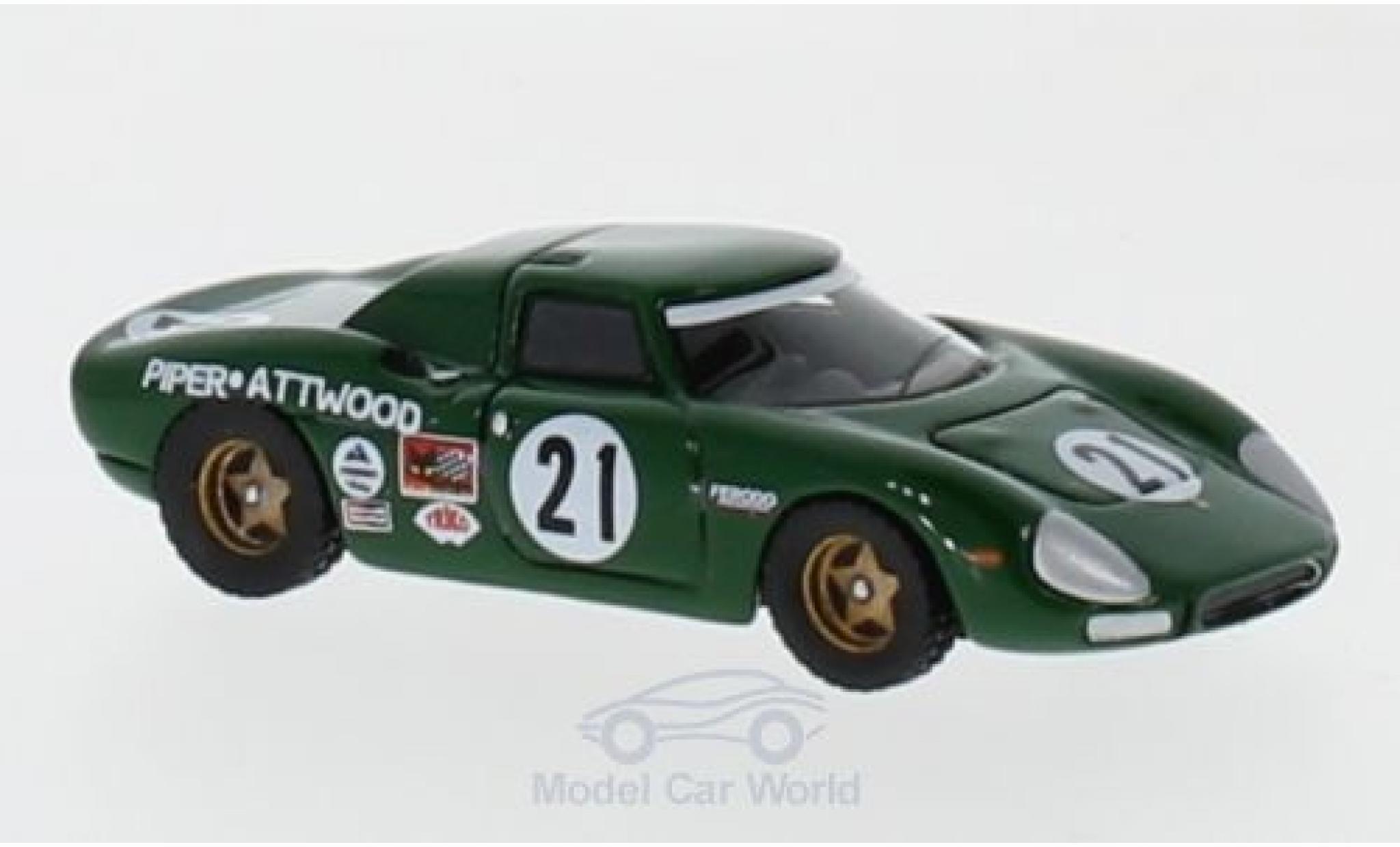 Ferrari 250 1/87 BoS Models LM No.21 24h Le Mans 1968 D.Piper/R.Attwood
