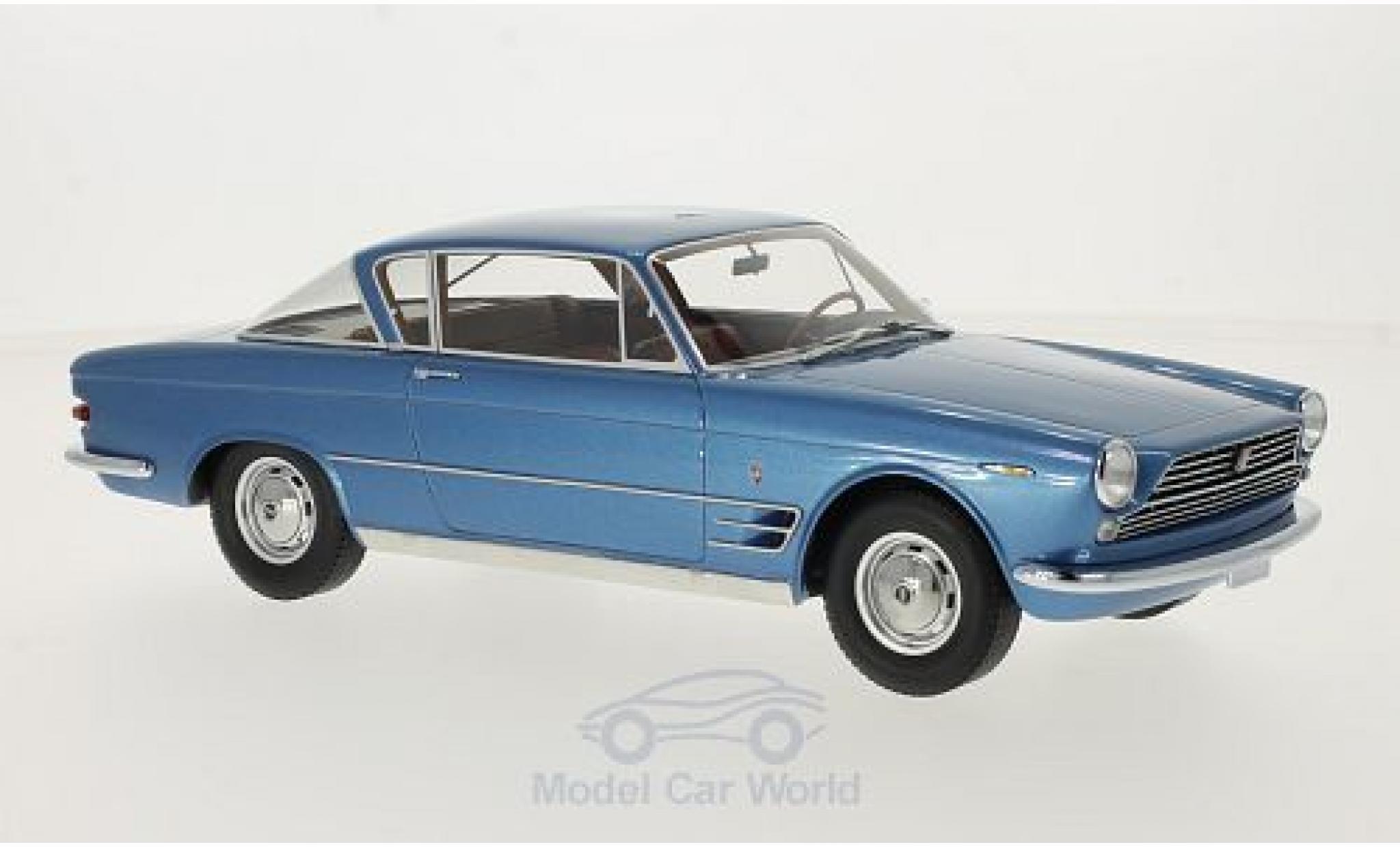 Fiat 2300 1/18 BoS Models S Coupe metallise bleue 1961