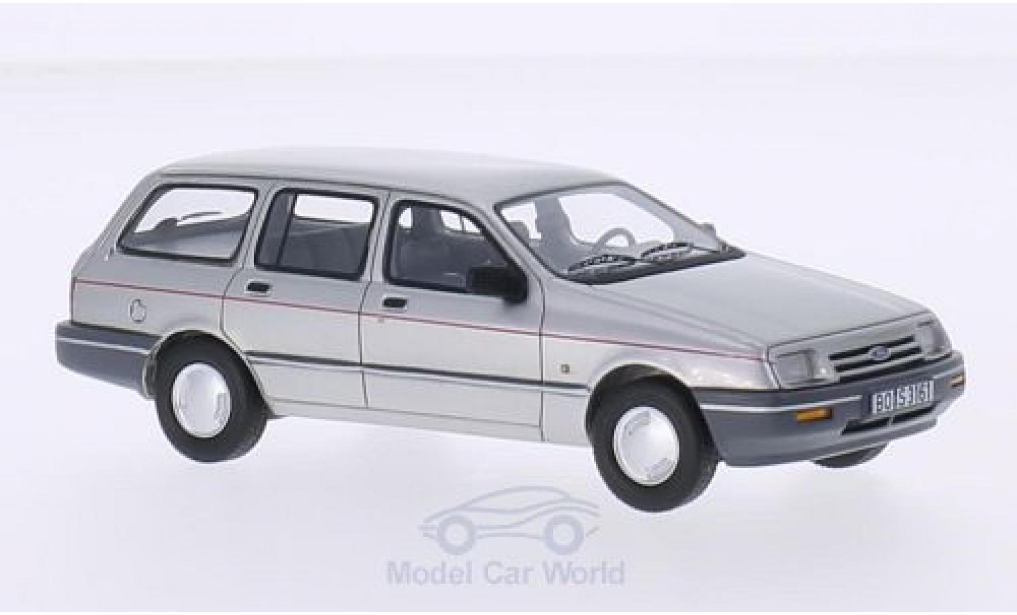 Ford Sierra 1/43 BoS Models MKI Turnier grise 1982