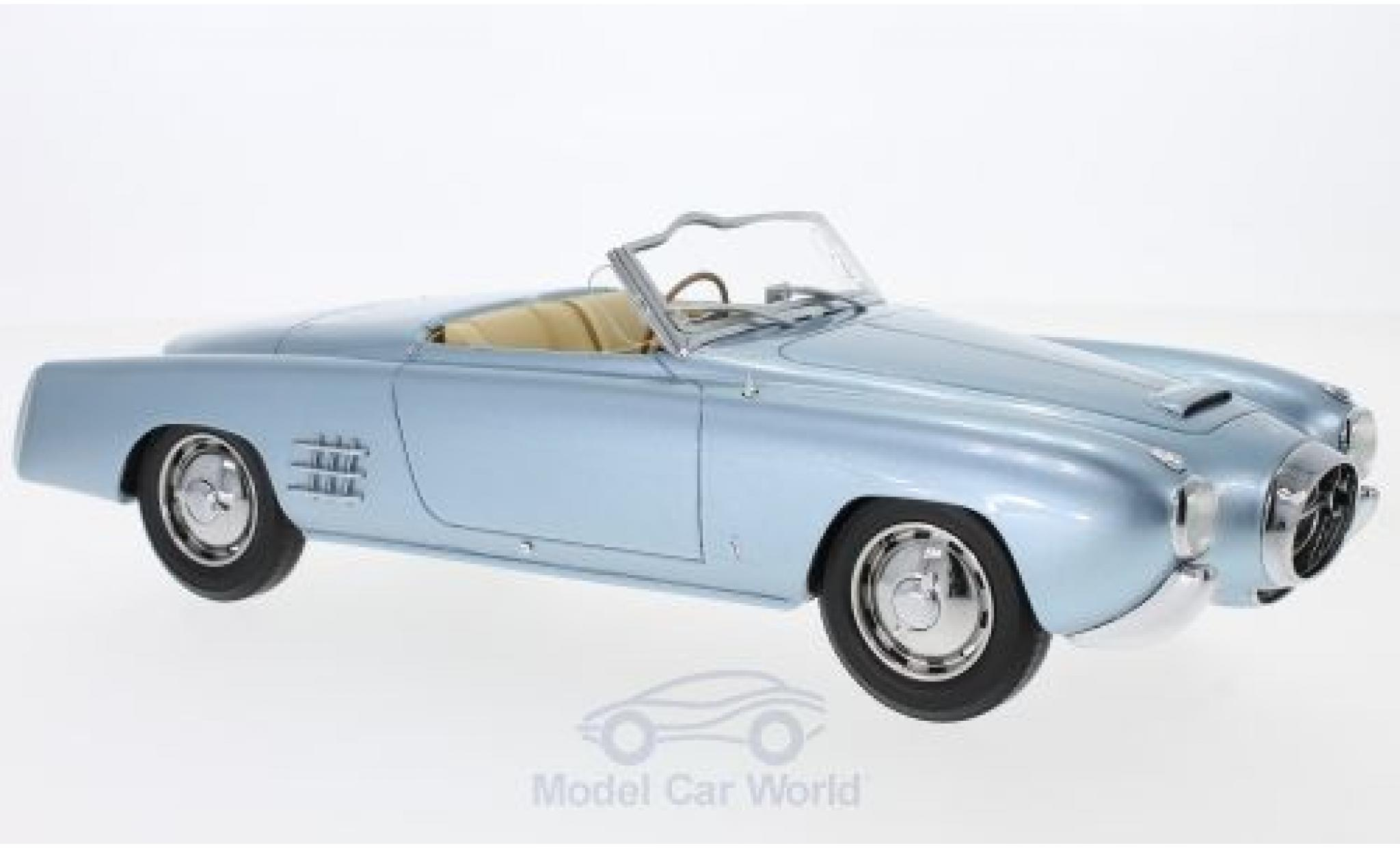 Lancia Aurelia 1/18 BoS Models PF200 C Spider métallisé bleue RHD 1952