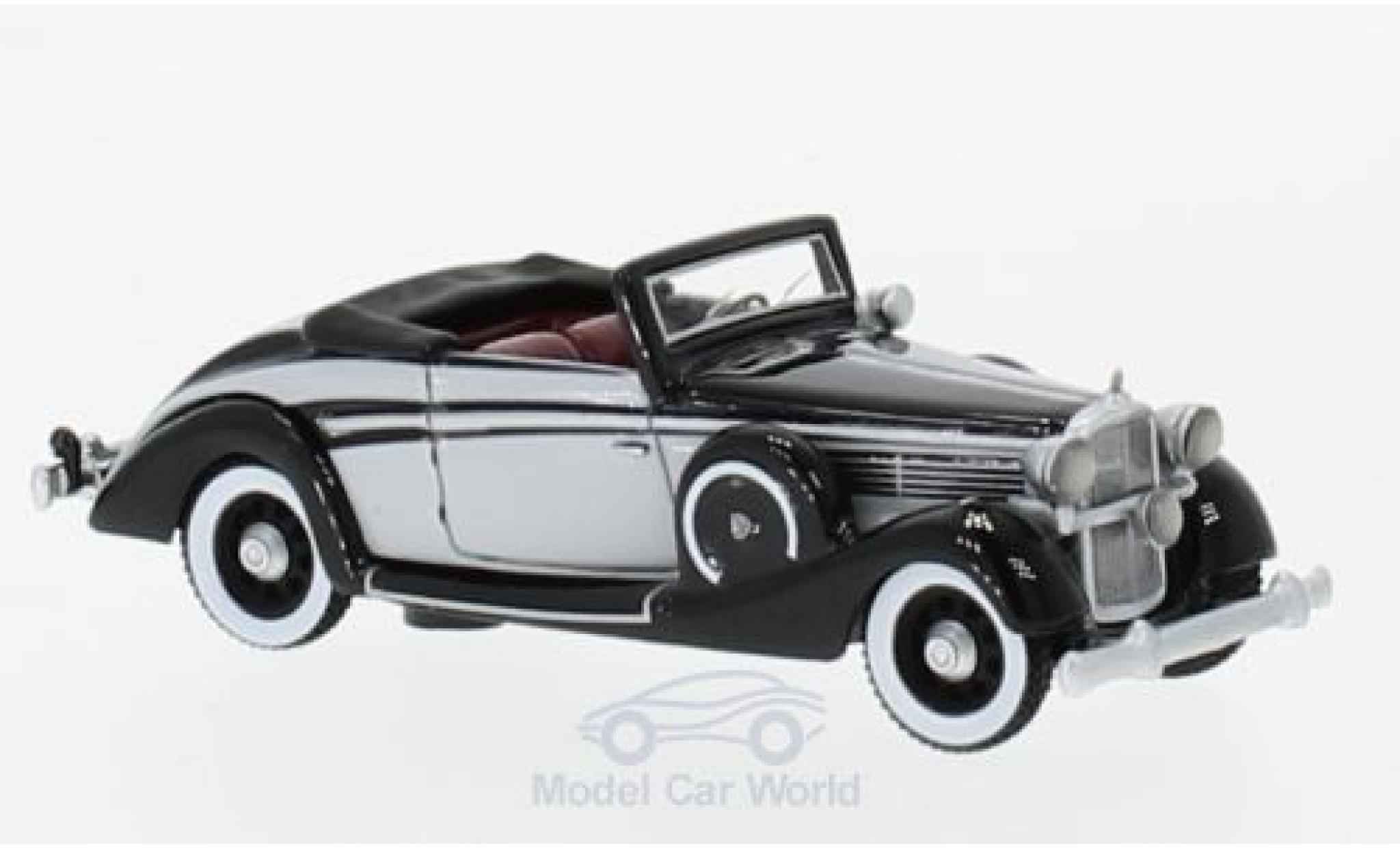 Maybach SW 1/87 BoS Models 38 Cabriolet Spohn noire/grise 1937