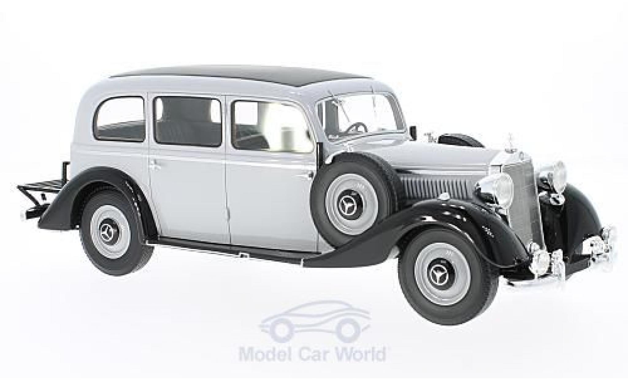 Mercedes 260 1/18 BoS Models D Pullman grise/noire 1937 ohne Vitrine
