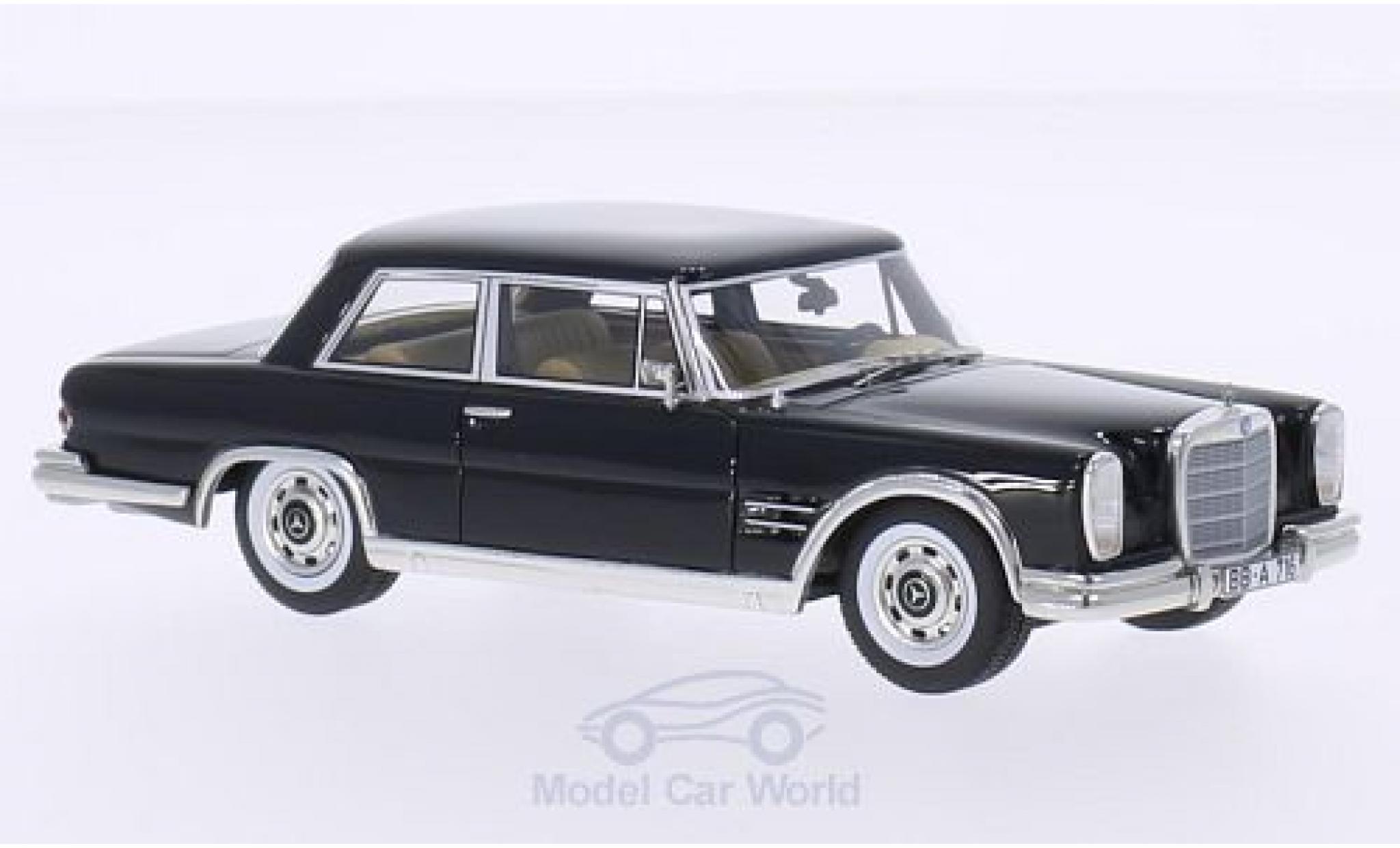 Mercedes 600 1/43 BoS Models (W100) Nallinger Coupe black