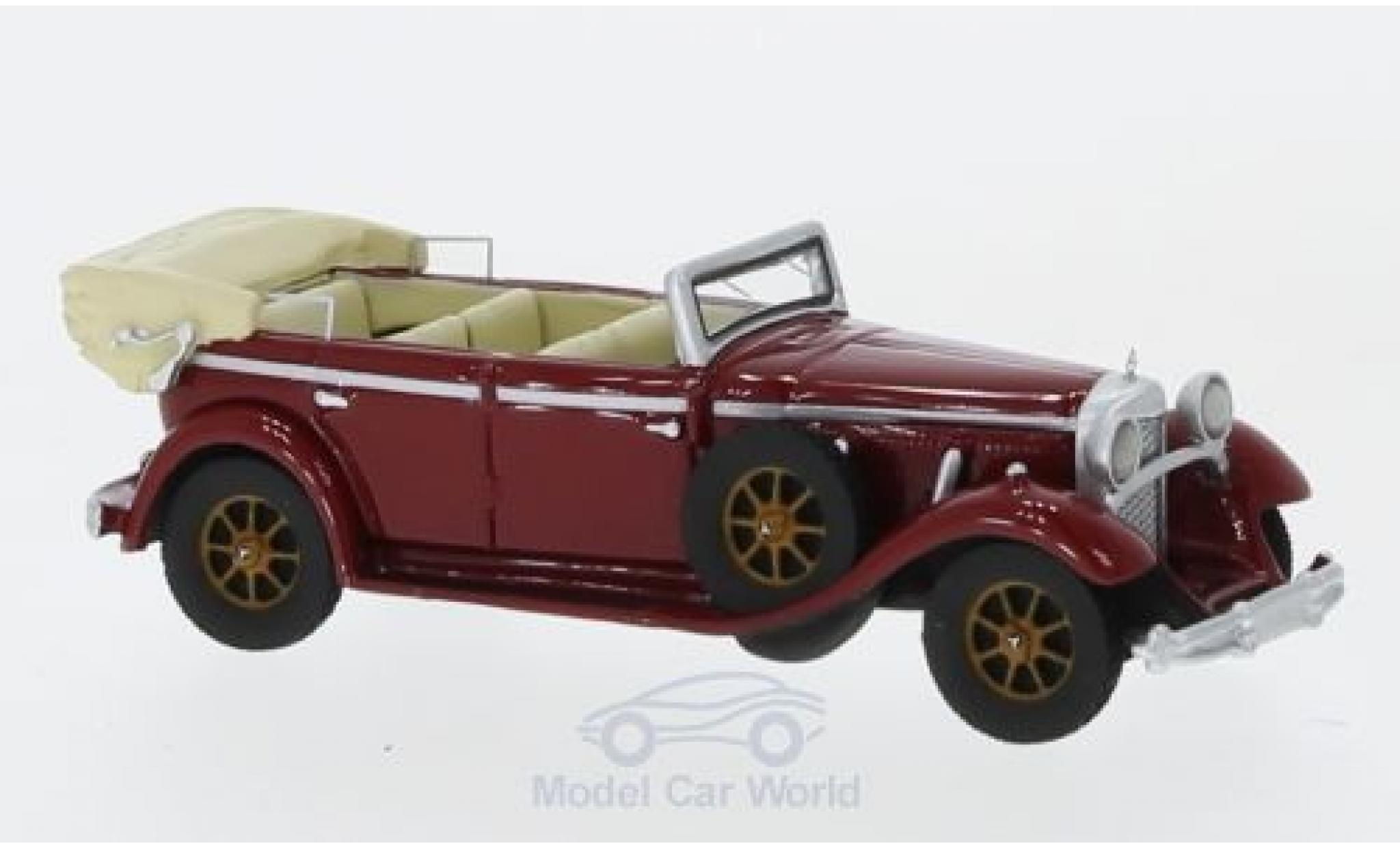 Mercedes 770 1/87 BoS Models (W07) Convertible rouge 1930