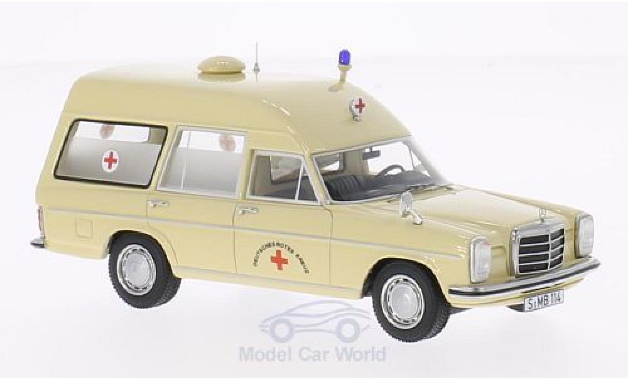 Mercedes /8 1/43 BoS Models (W114) Binz DRK - Deutsches Rotes Kreuz lusiv