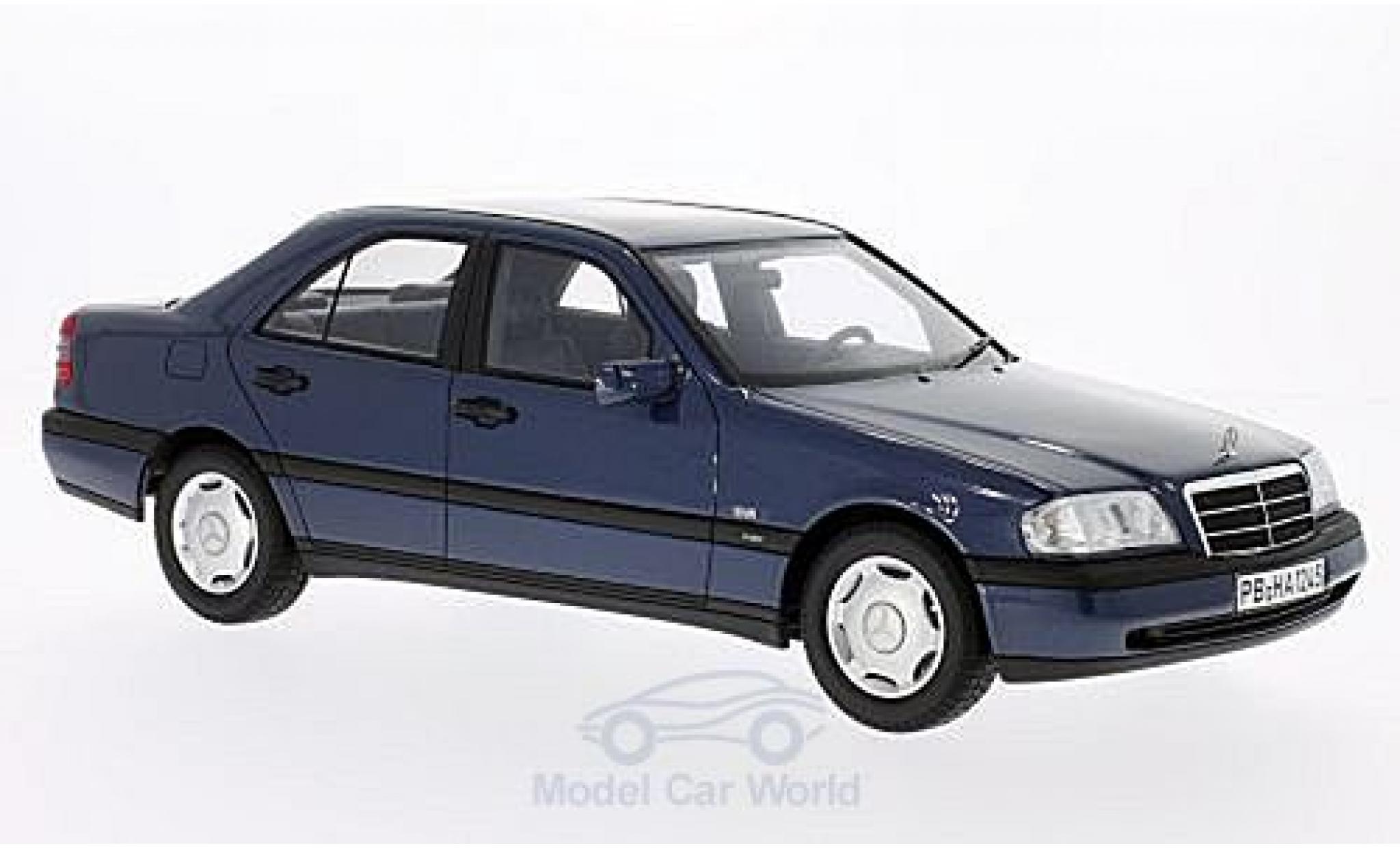 Mercedes Classe C 1/18 BoS Models C220 (W202) metallise blue 1995