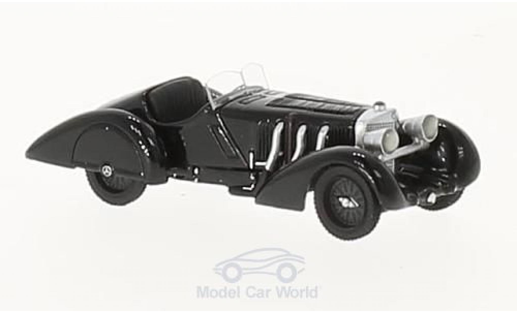 Mercedes SSK 1/87 BoS Models Count Trossi noire Der noiree Prinz 1932