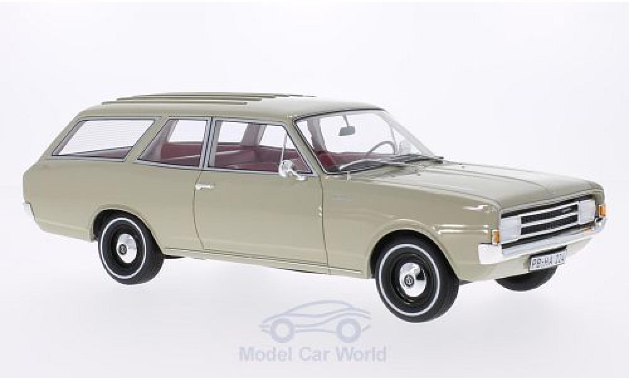 Opel Rekord 1/18 BoS Models C Caravan beige 1970
