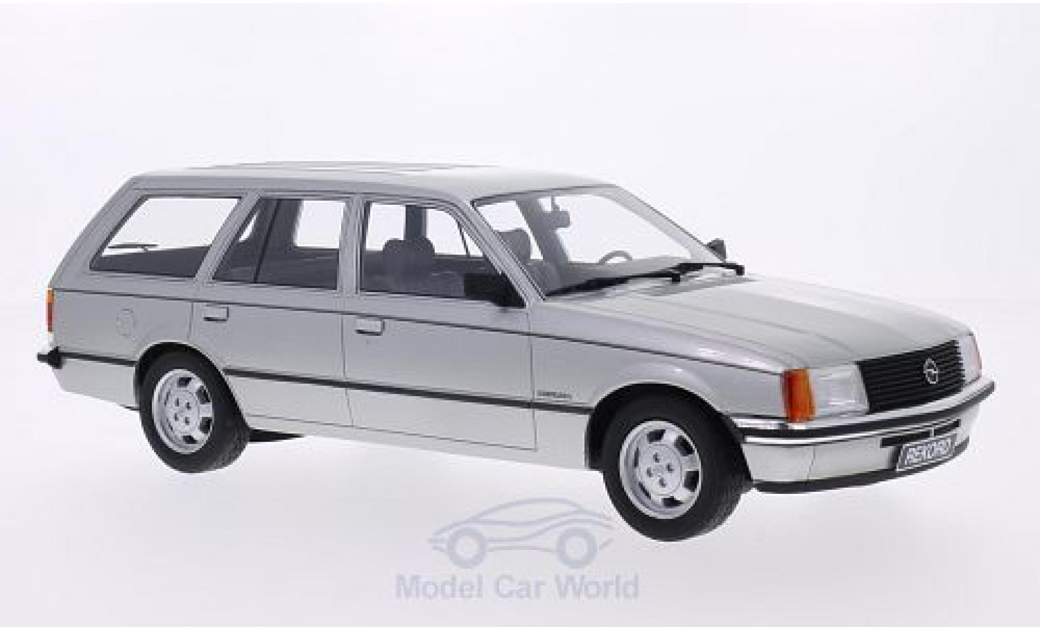 Opel Rekord 1/18 BoS Models E Caravan grise 1981