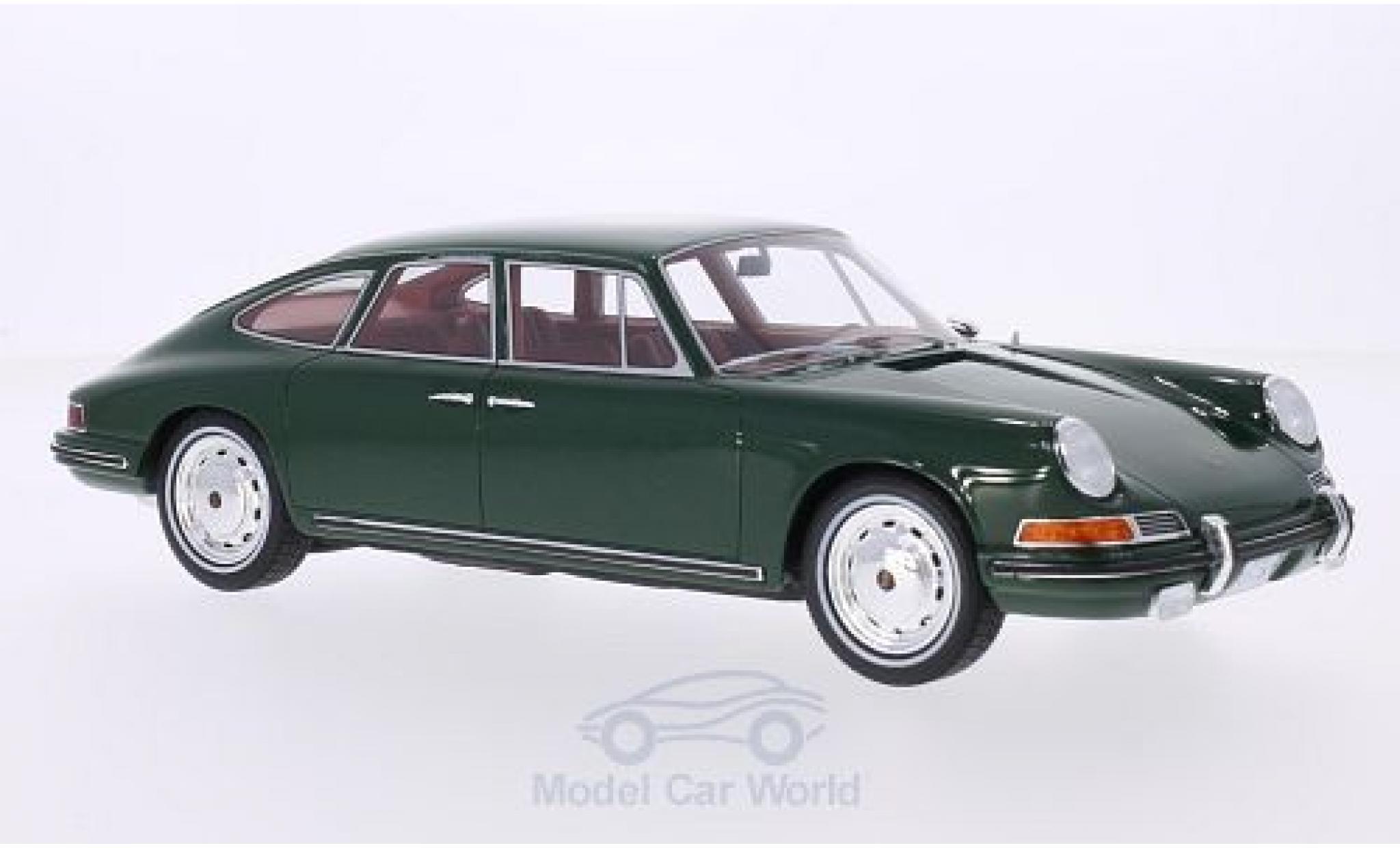 Porsche 911 SC 1/18 BoS Models S Troutman & Barnes metallise verte 1967