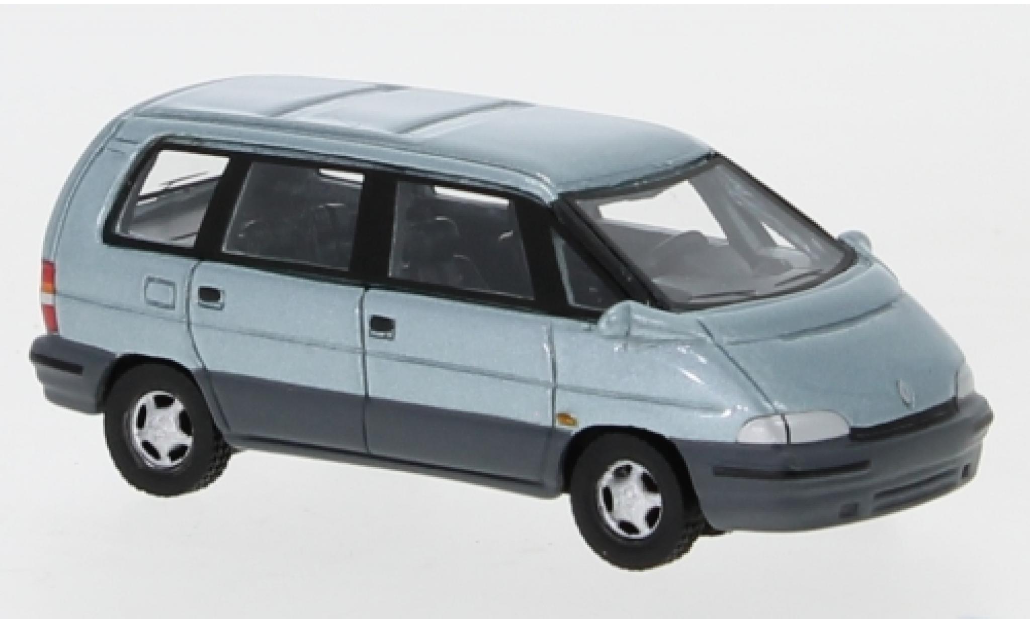 Renault Espace 1/87 BoS Models II metallise bleue 1991