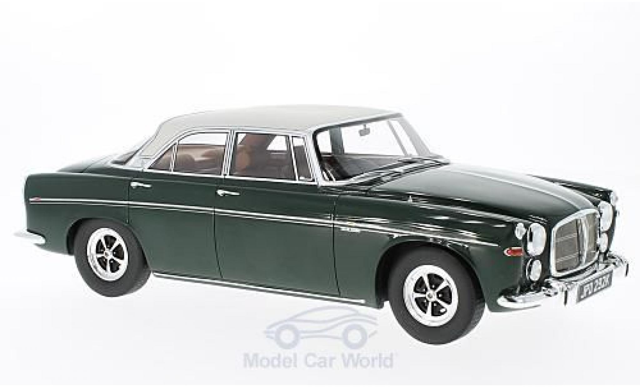 Rover P5B 1/18 BoS Models Coupe verte/grise RHD 1971
