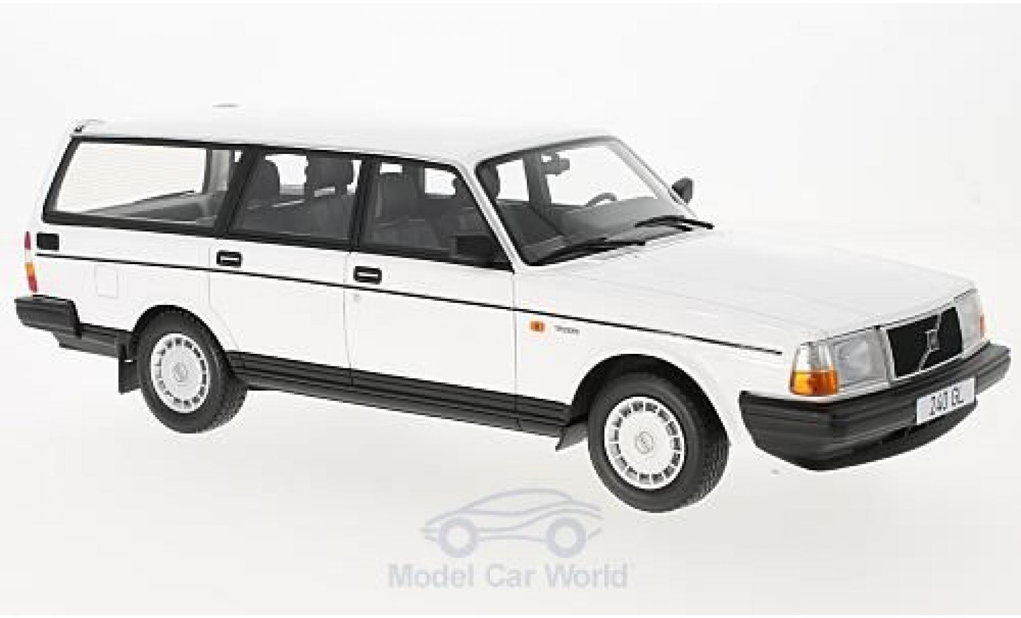 Volvo 240 GL 1/18 BoS Models GL blanche 1989